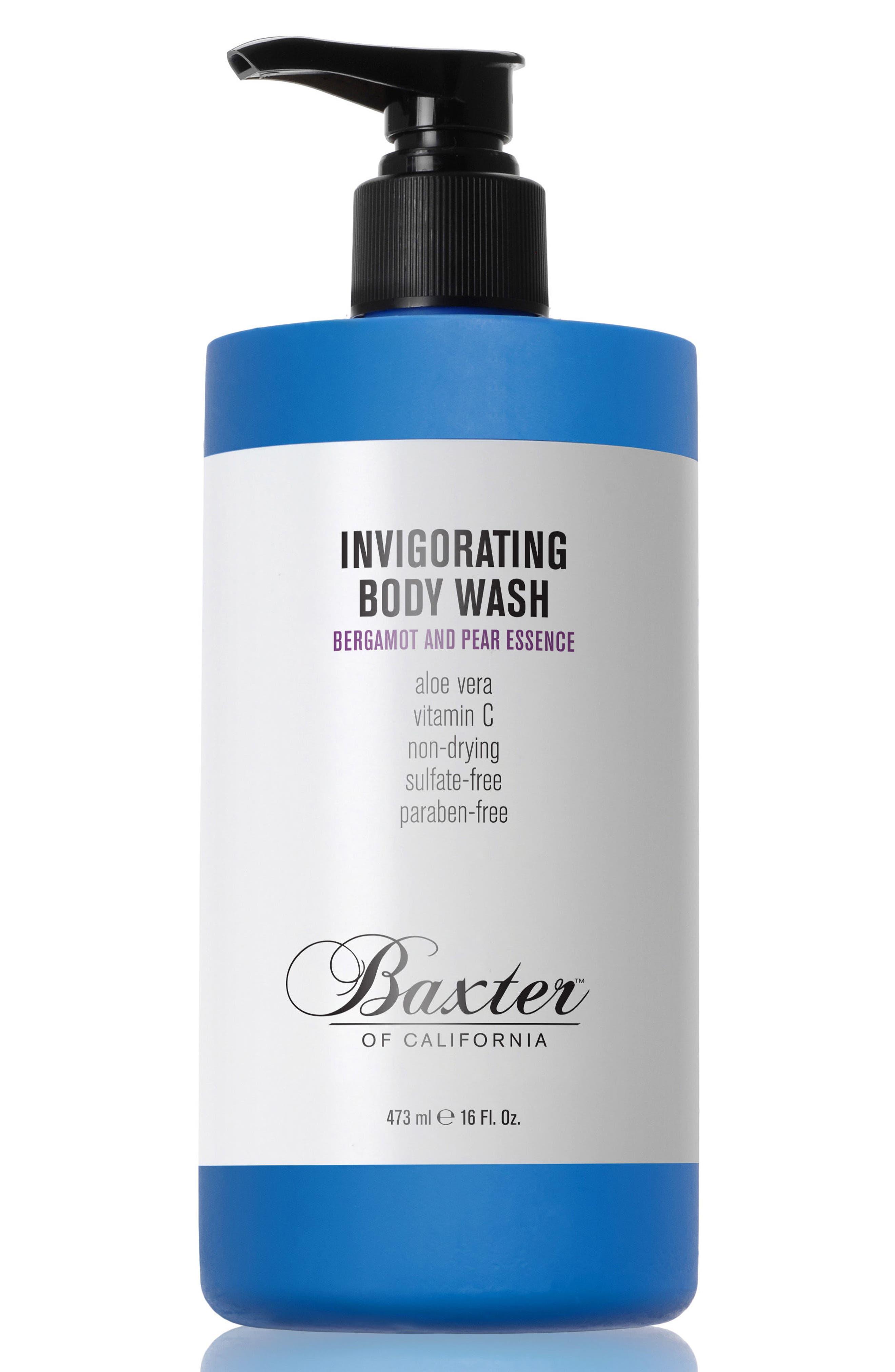 Bergamont & Pear Essence Invigorating Body Wash,                         Main,                         color, NO COLOR
