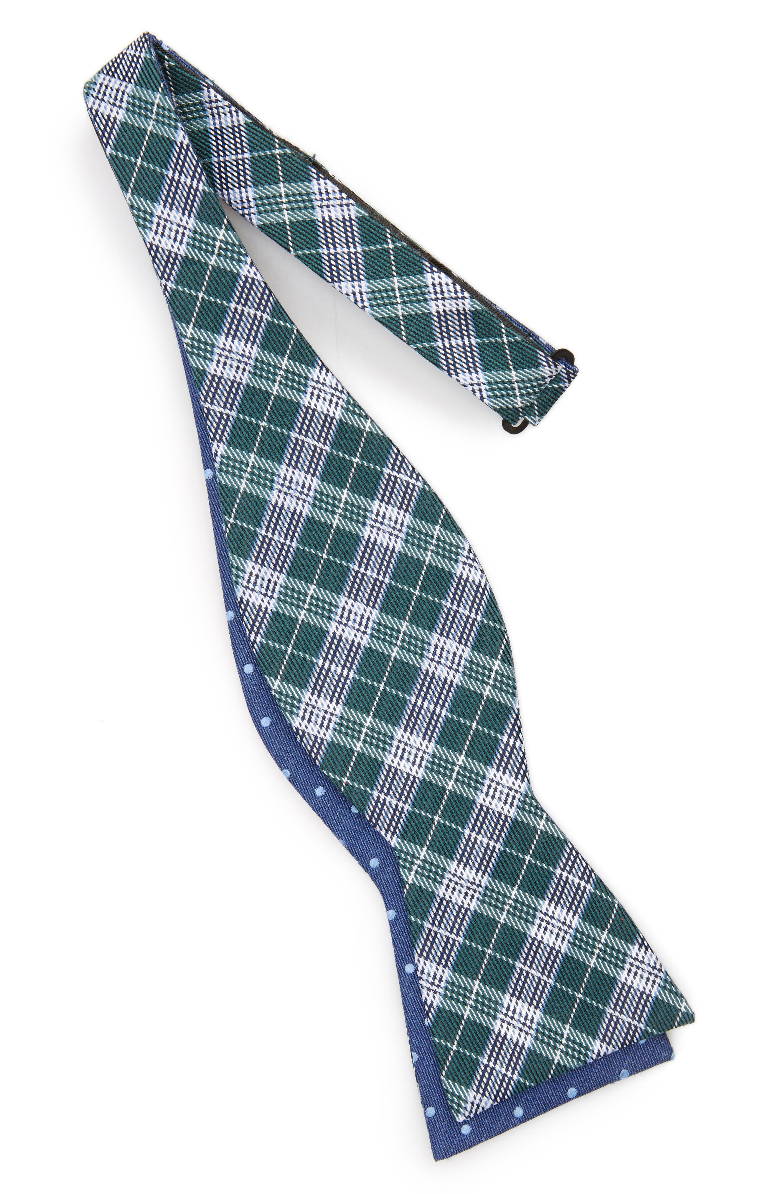 Emerson Reversible Silk Bow Tie,                             Alternate thumbnail 2, color,                             300