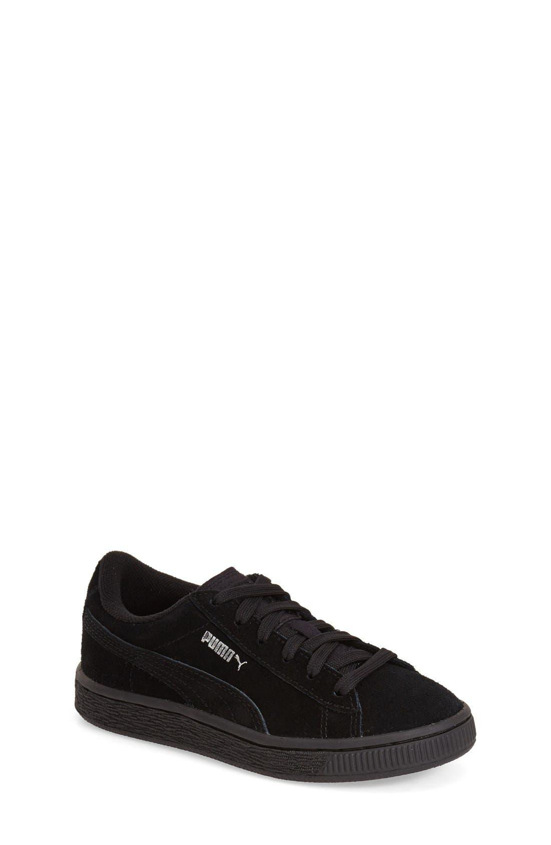'Suede'Sneaker,                         Main,                         color, 001