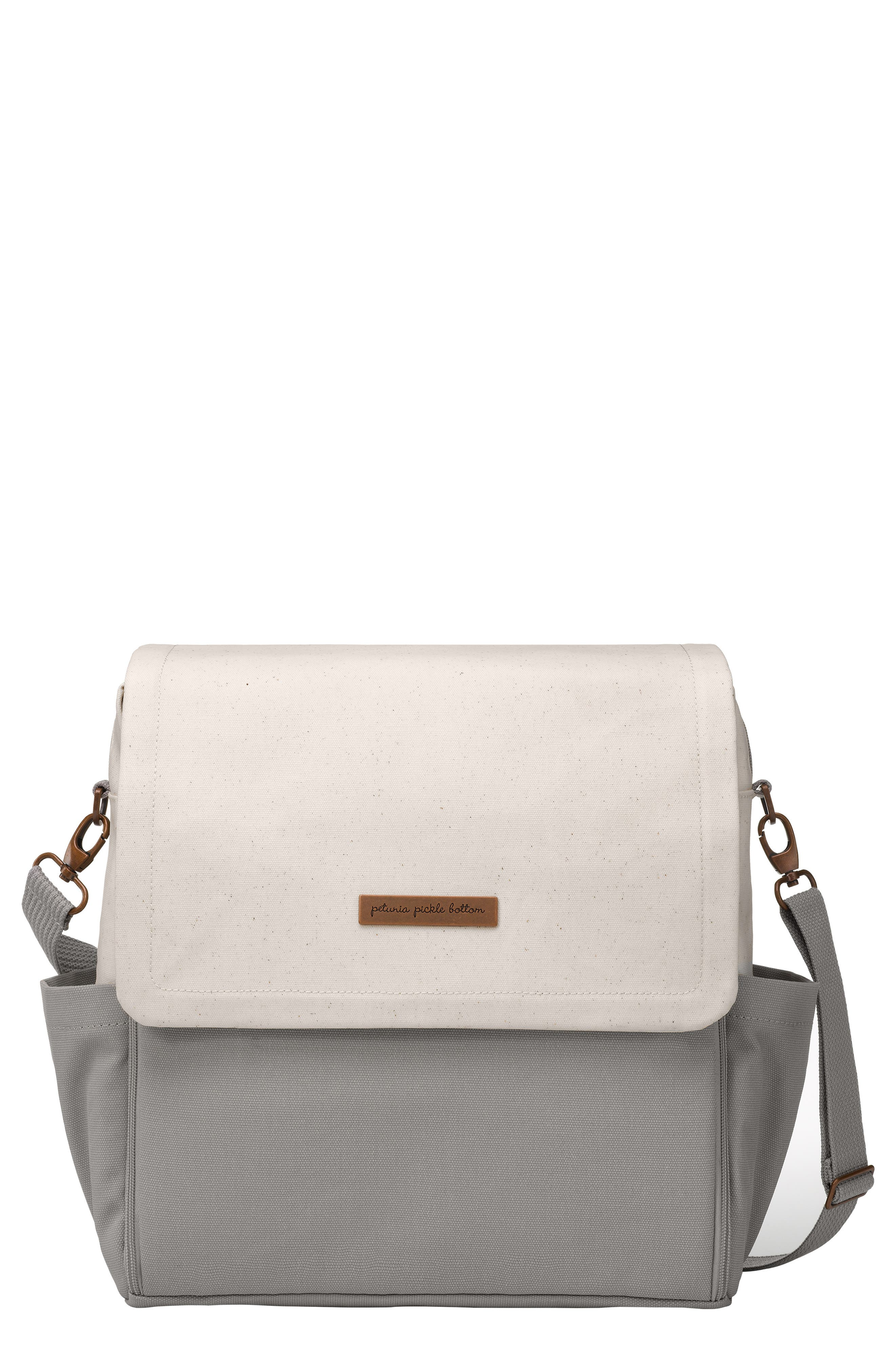 Boxy Backpack Diaper Bag,                         Main,                         color, BIRCH/ STONE