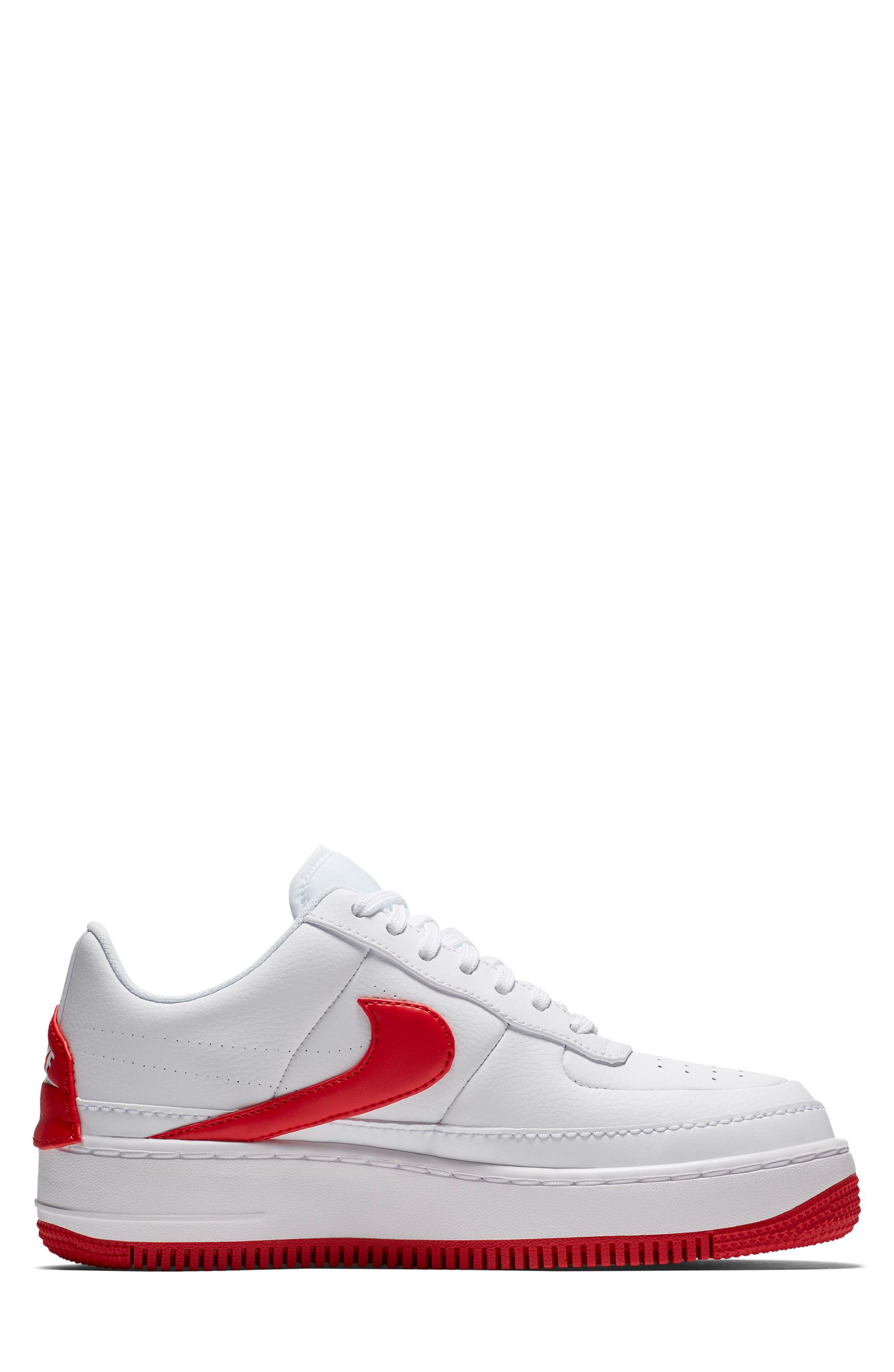 Air Force 1 Jester XX Sneaker,                             Alternate thumbnail 3, color,                             WHITE