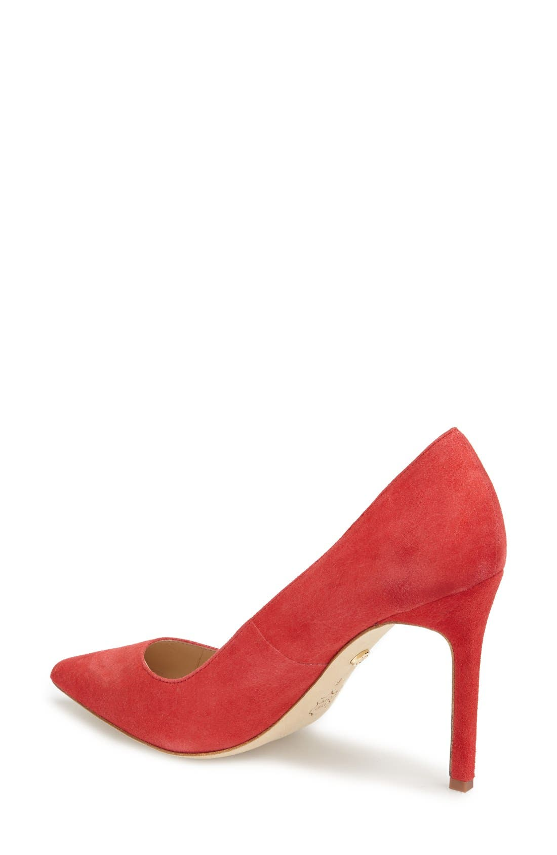 'Caterina' Pointy Toe Pump,                             Alternate thumbnail 19, color,