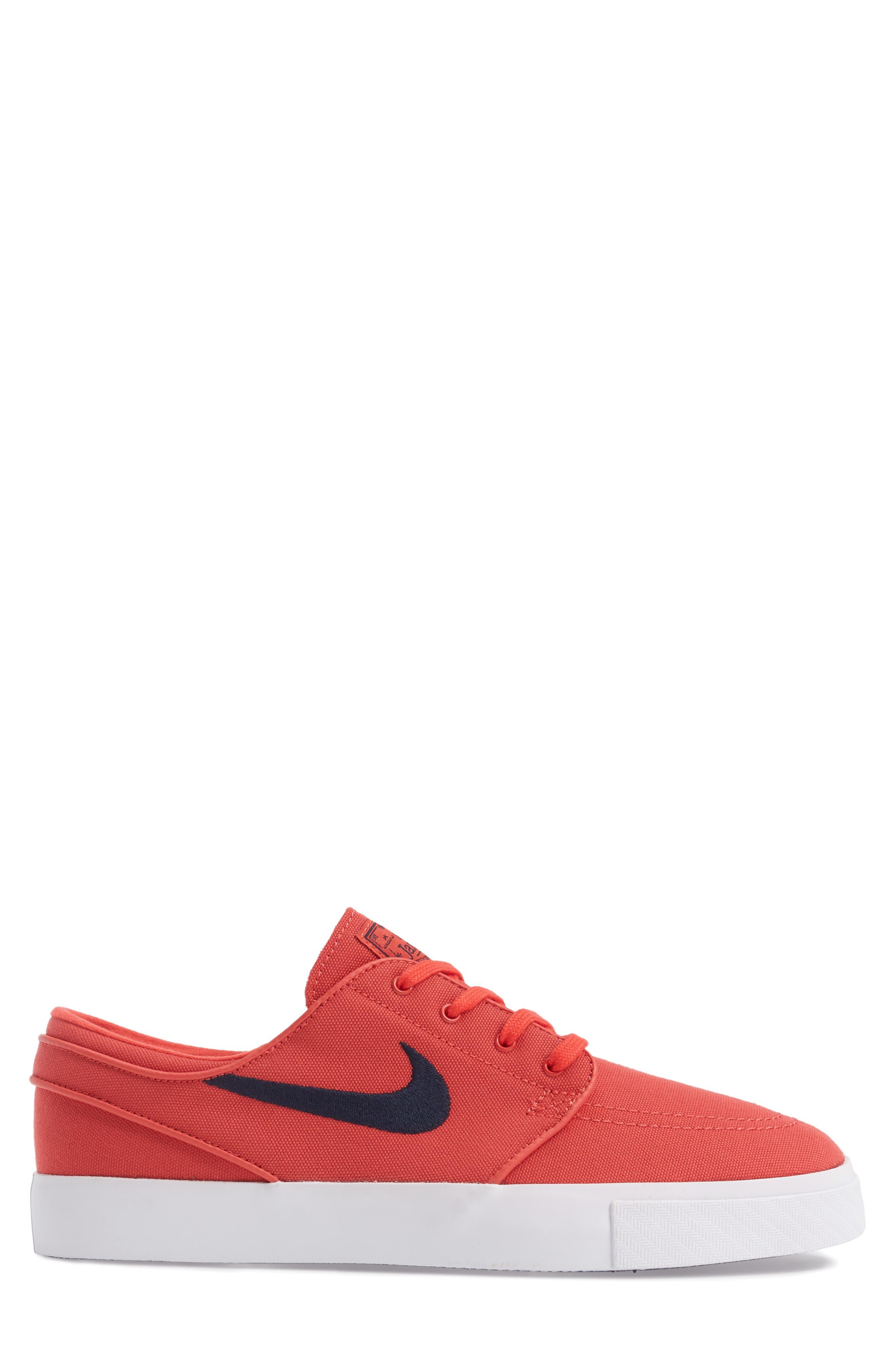 Zoom - Stefan Janoski SB Canvas Skate Shoe,                             Alternate thumbnail 128, color,