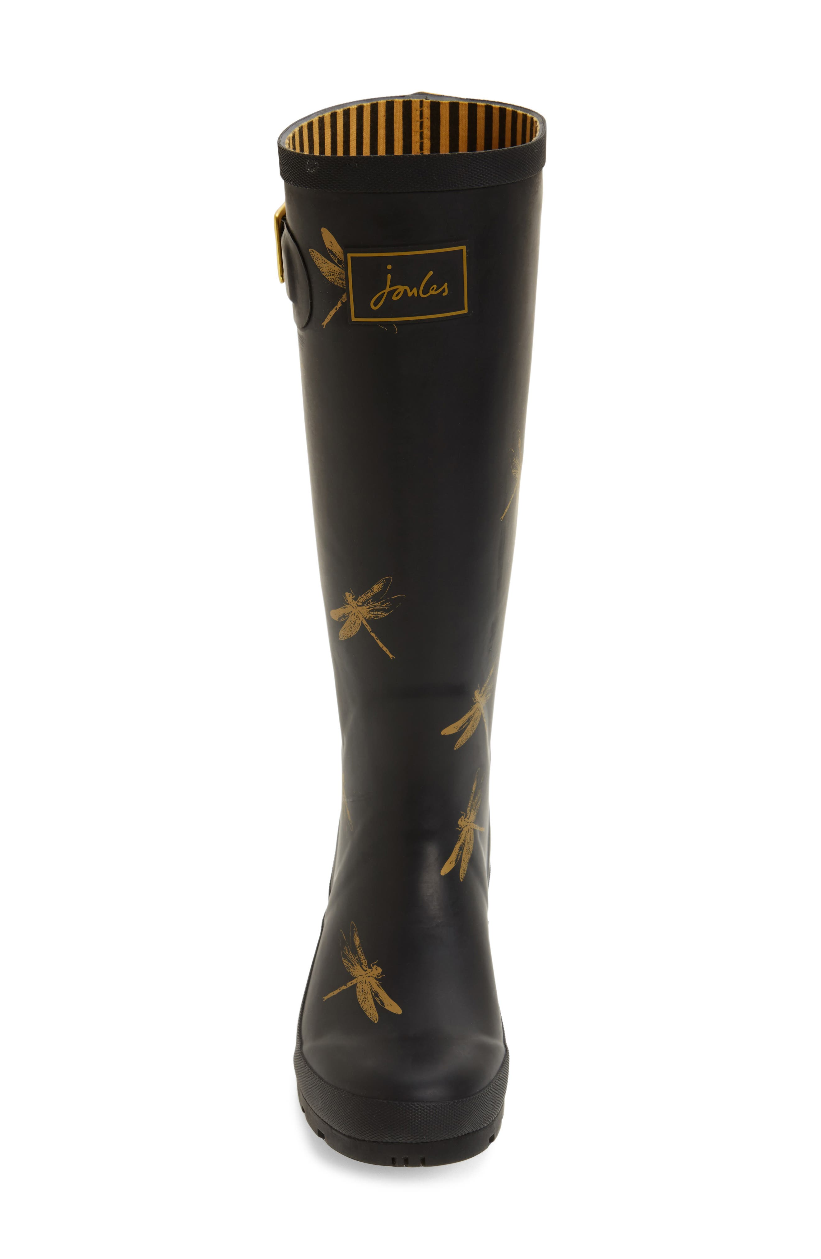 'Welly' Print Rain Boot,                             Alternate thumbnail 75, color,