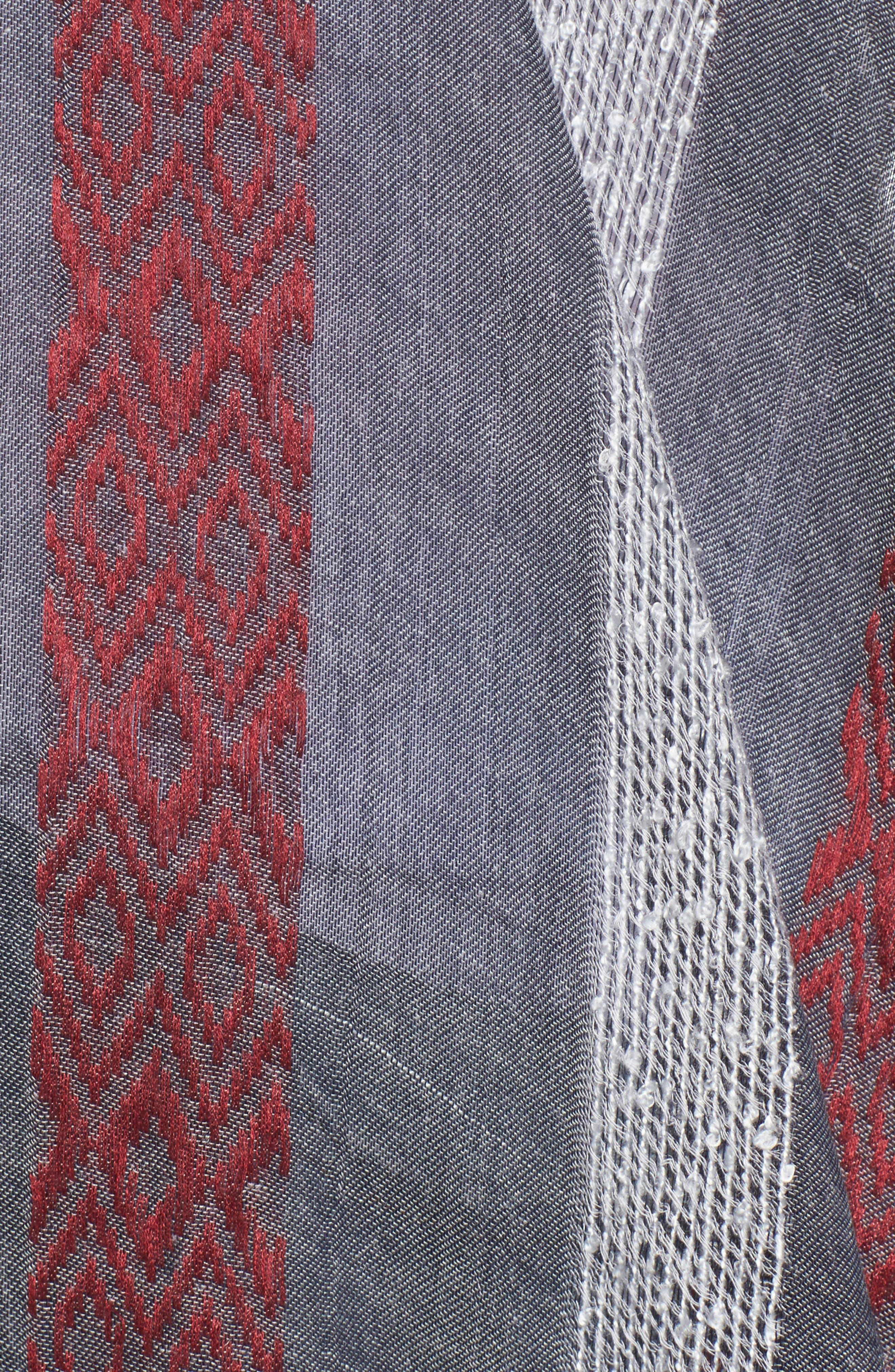Knit Duster Kimono,                             Alternate thumbnail 5, color,                             020