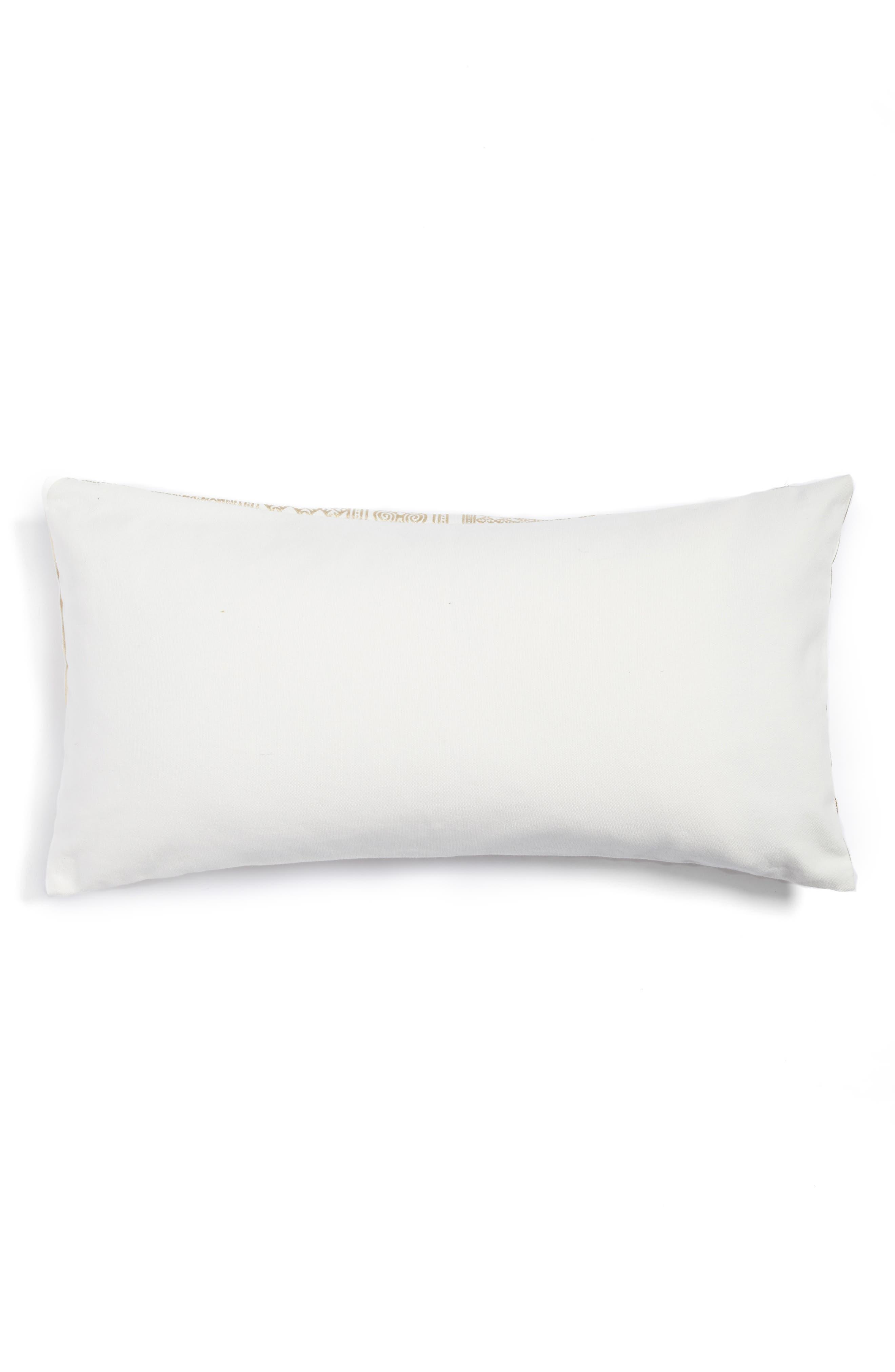 Foil Screenprint Accent Pillow,                             Alternate thumbnail 2, color,                             710