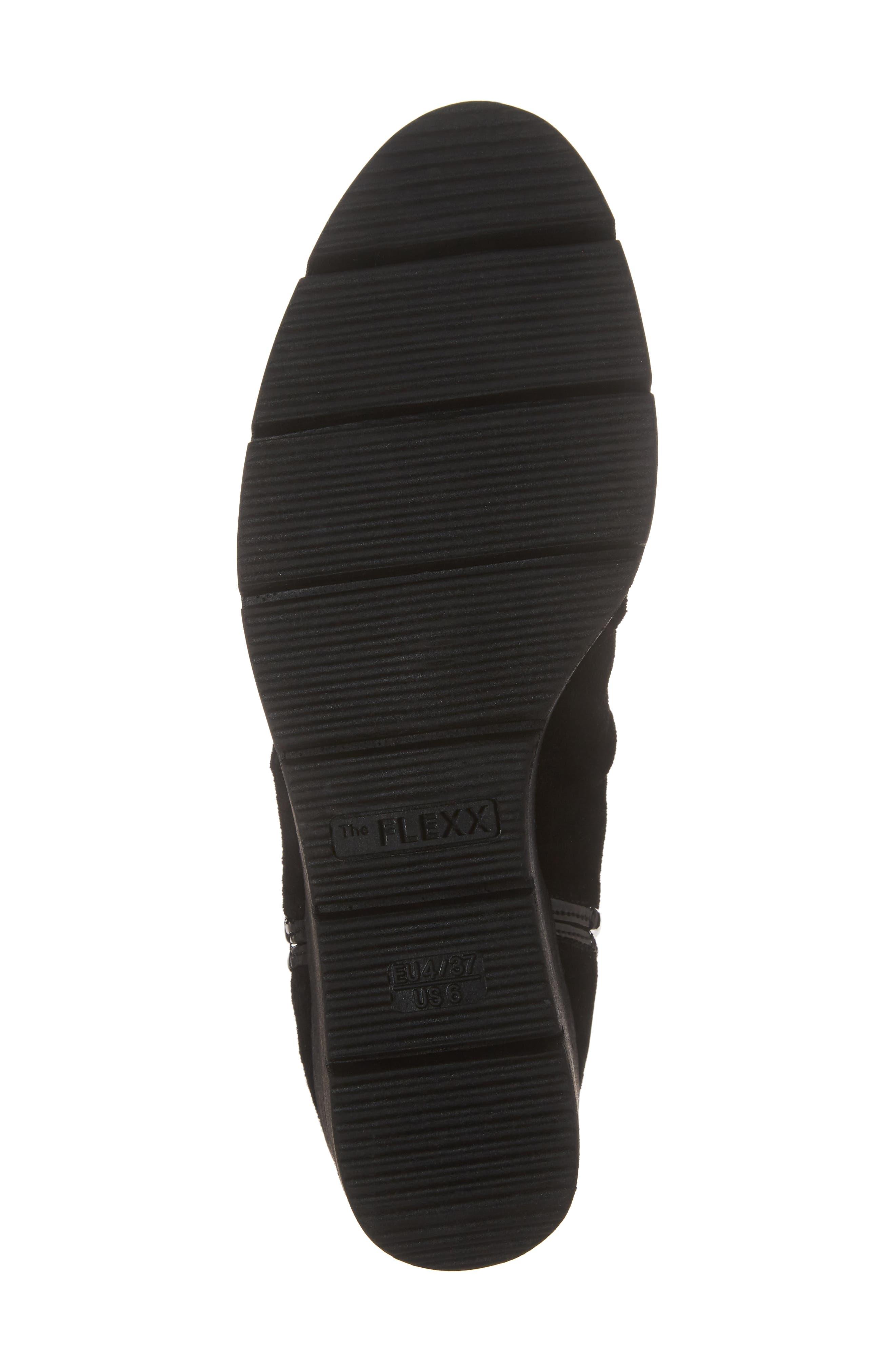 'Spaceless' Chelsea Wedge Boot,                             Alternate thumbnail 6, color,                             003