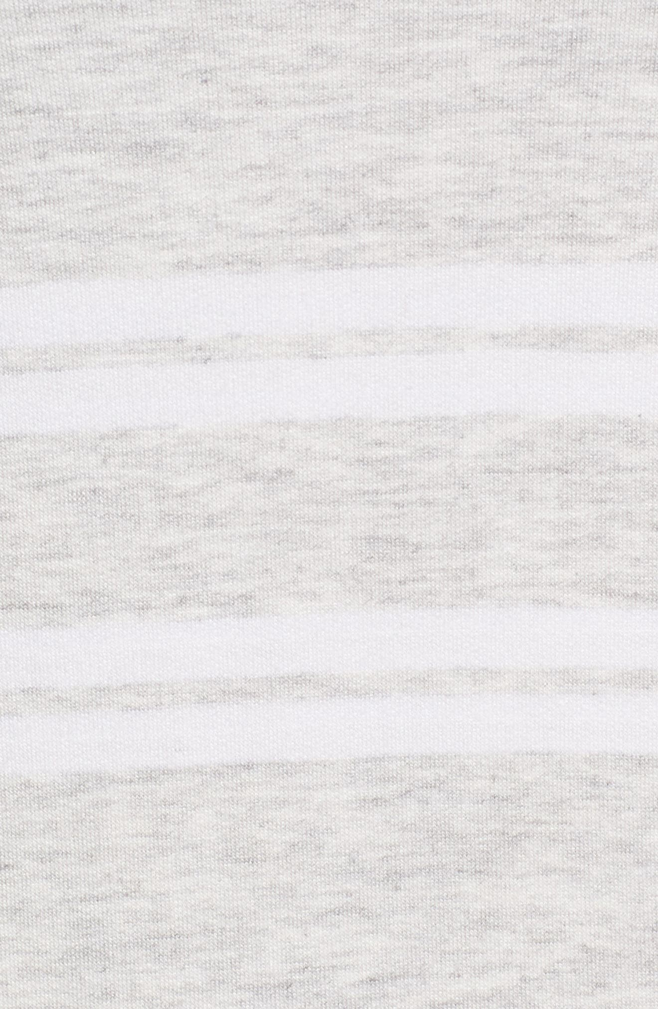 Sleeveless Stretch Knit Stripe Dress,                             Alternate thumbnail 11, color,