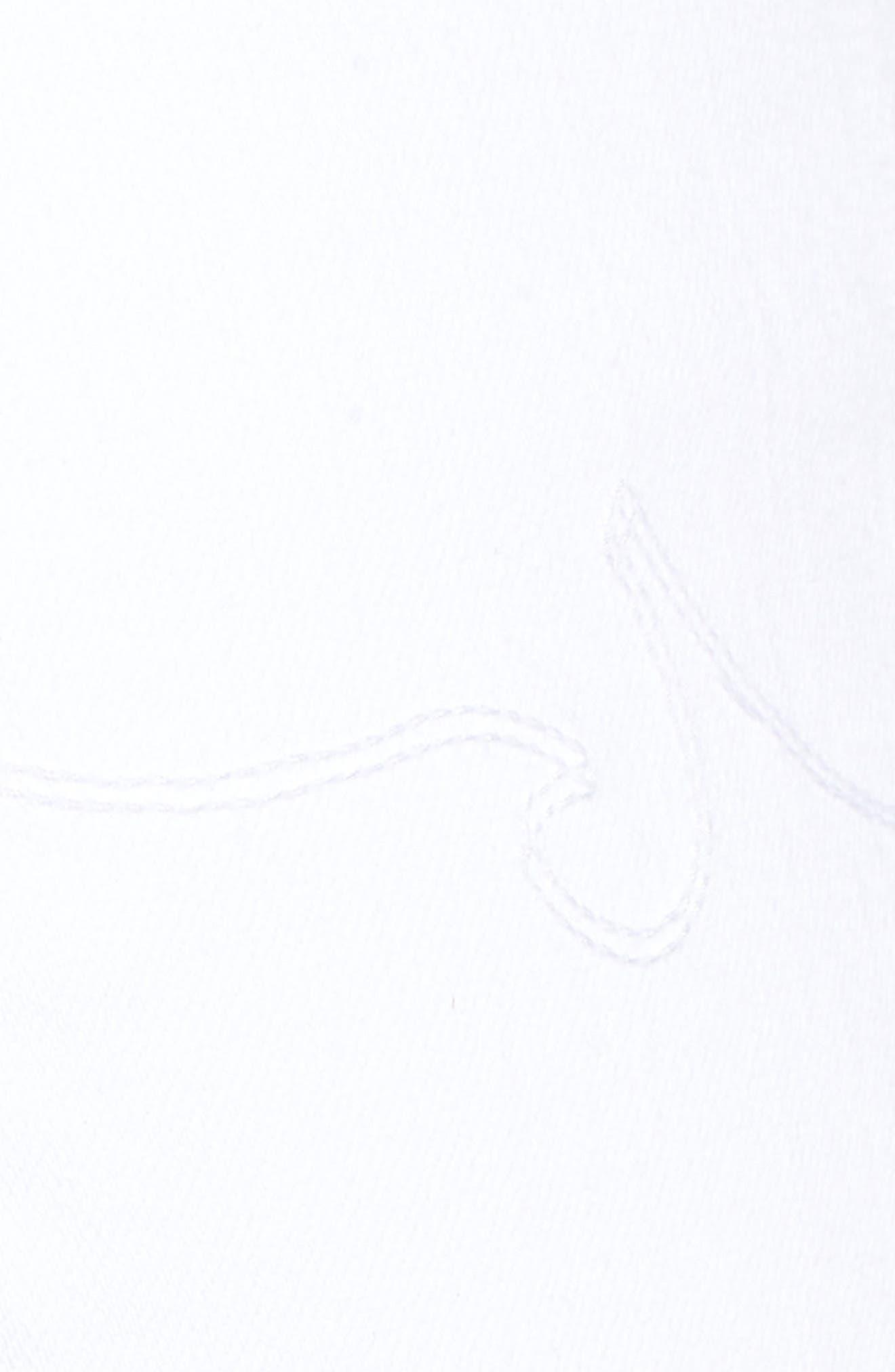 Etta High Waist Crop Wide Leg Jeans,                             Alternate thumbnail 6, color,                             110