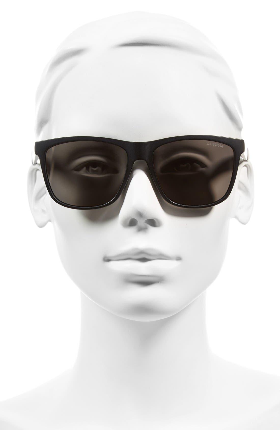 Carerra Eyewear 56mm Retro Polarized Sunglasses,                             Alternate thumbnail 2, color,                             001