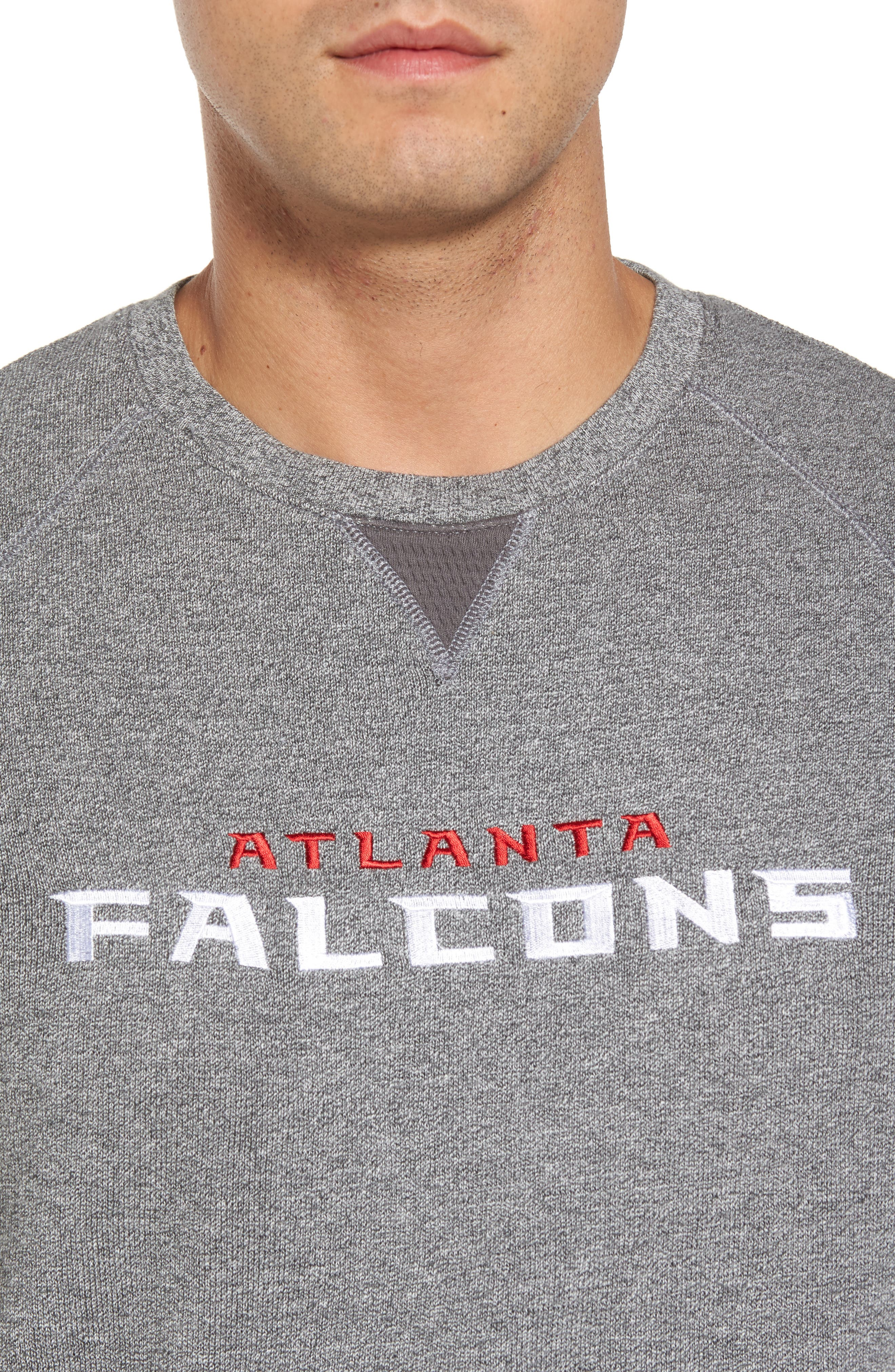 NFL Stitch of Liberty Embroidered Crewneck Sweatshirt,                             Alternate thumbnail 107, color,