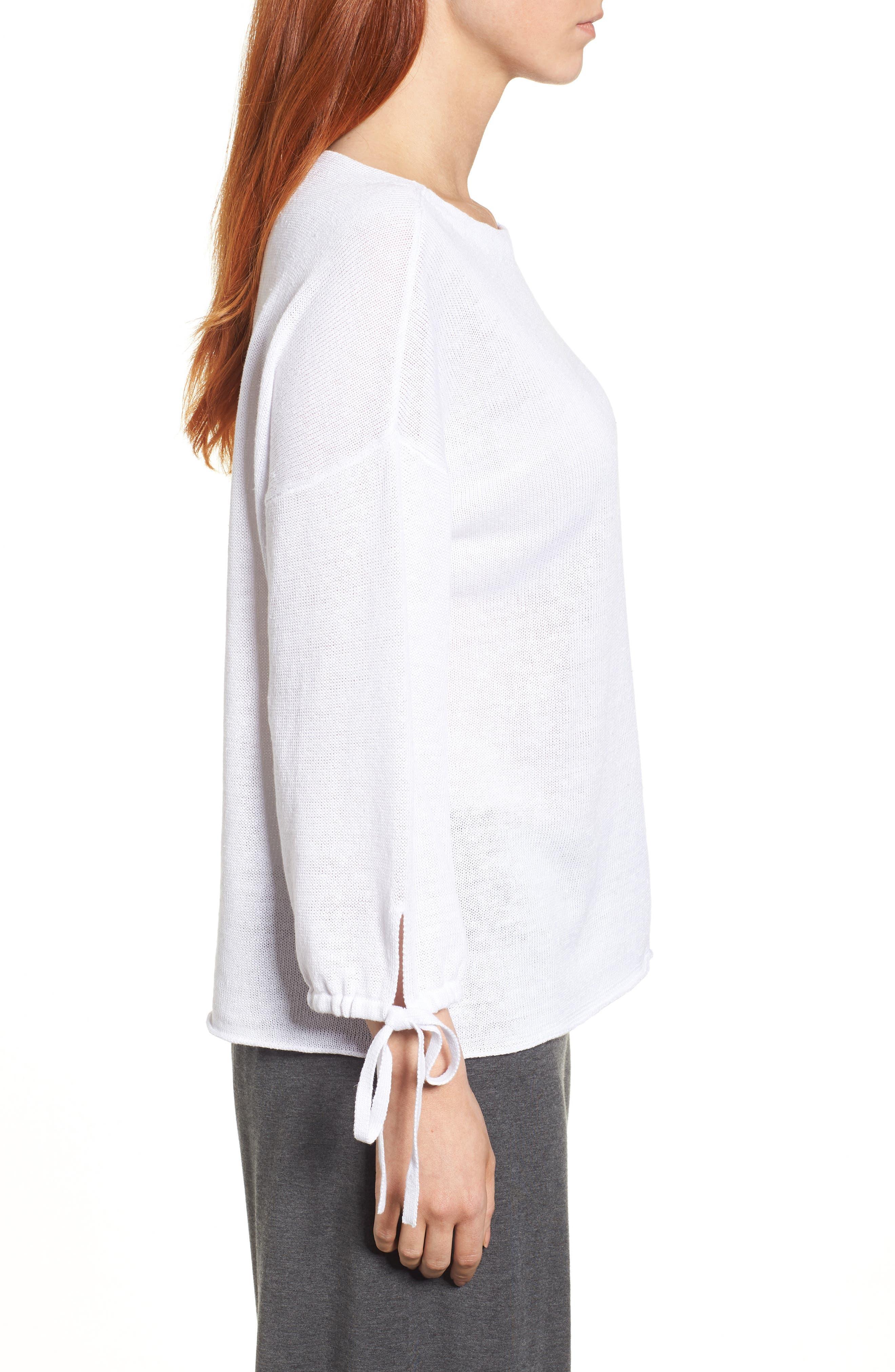 Organic Linen Sweater,                             Alternate thumbnail 10, color,