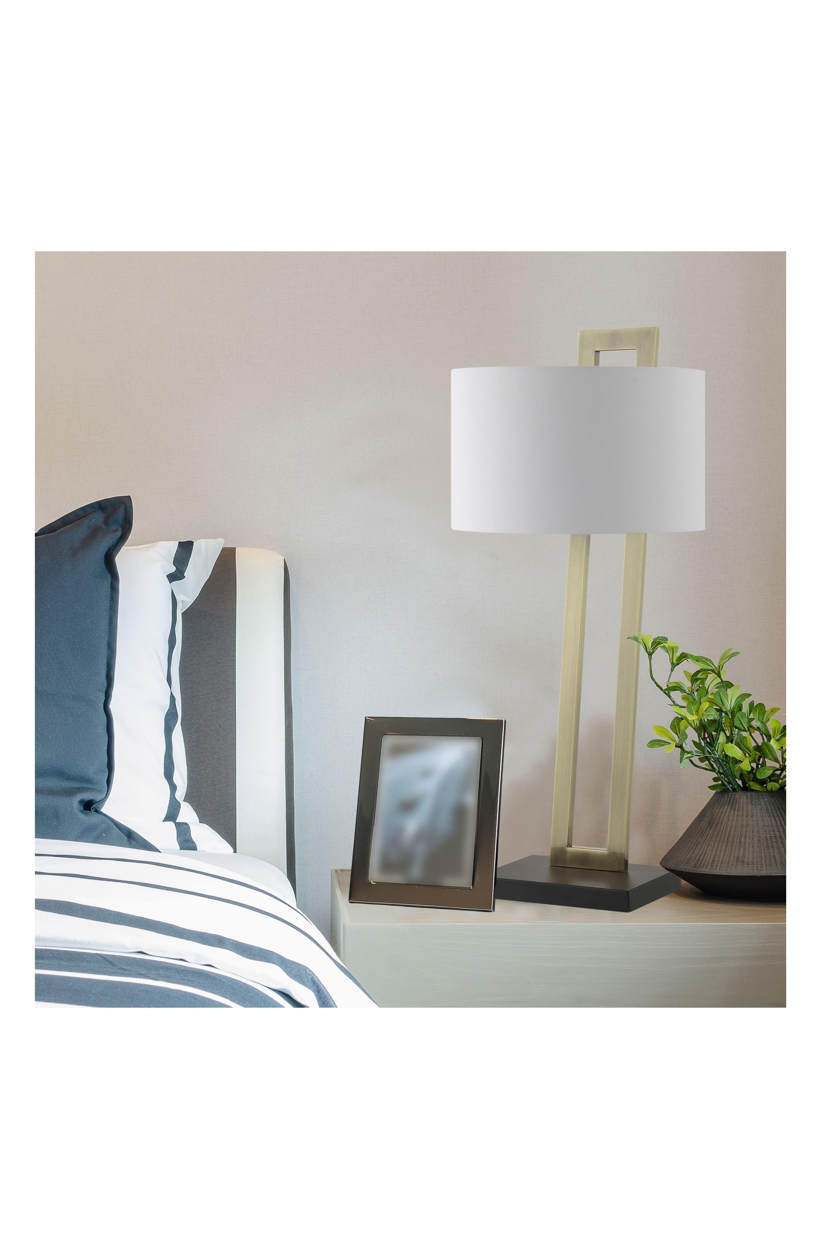 JAlexander Preston Table Lamp,                             Alternate thumbnail 2, color,                             BRASS