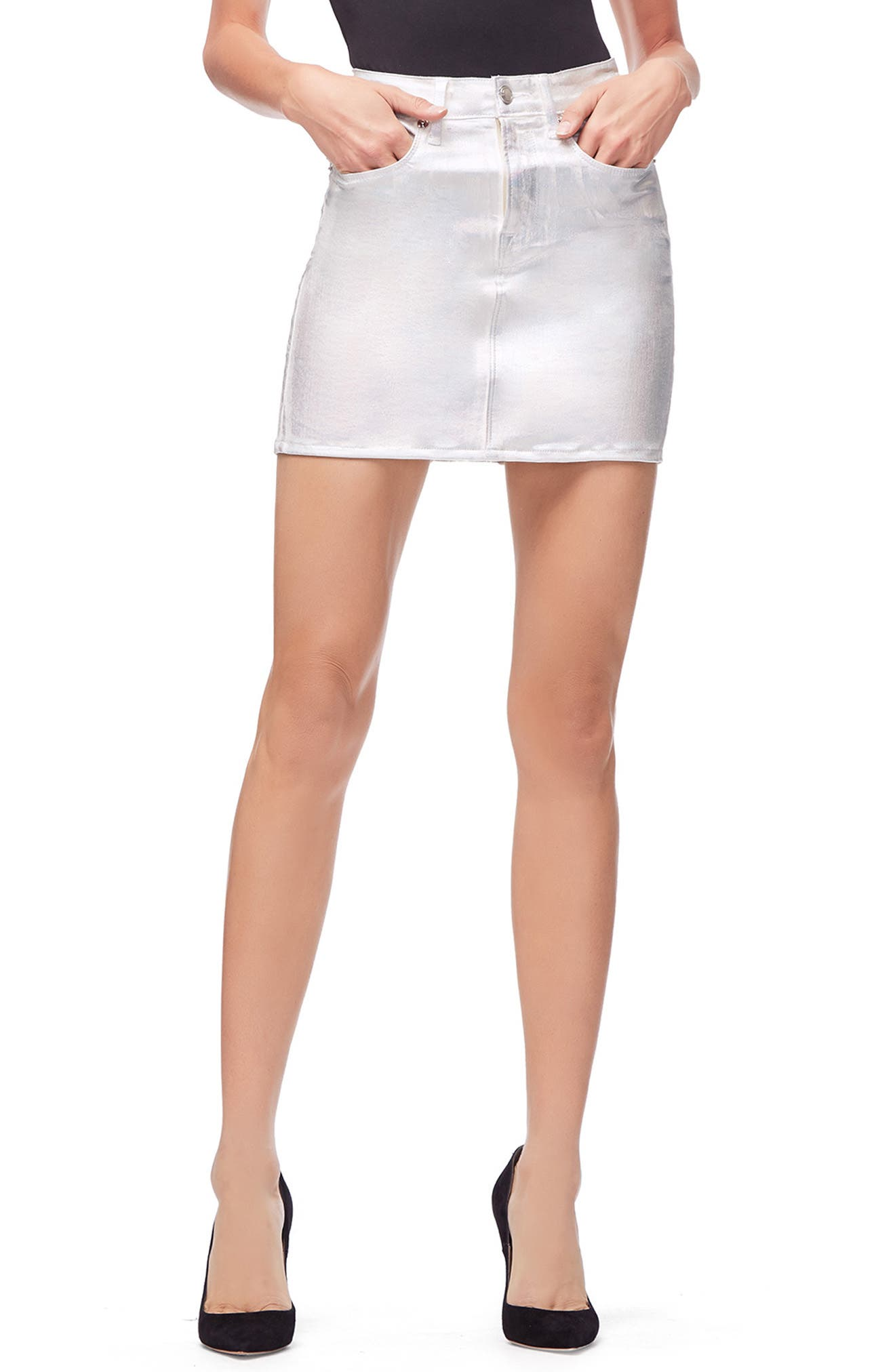 The Iridescent Miniskirt,                         Main,                         color, 040