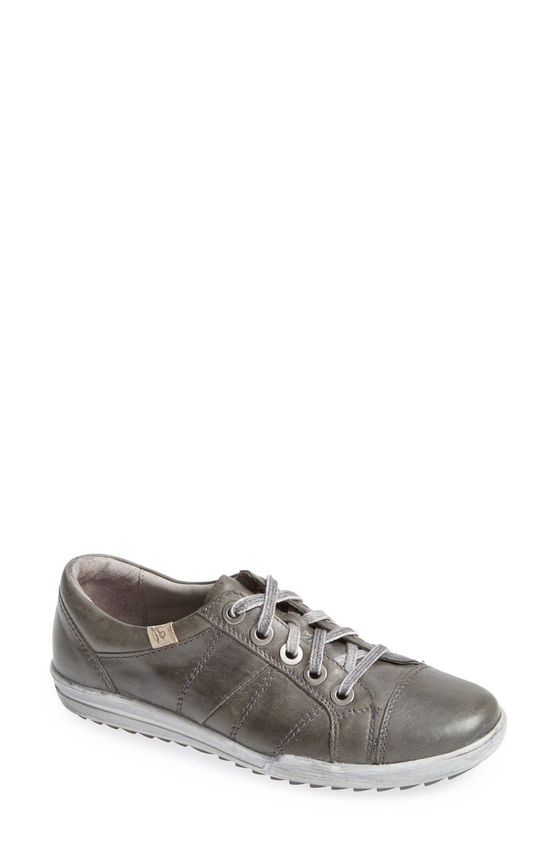 'Dany 05' Leather Sneaker,                             Main thumbnail 2, color,