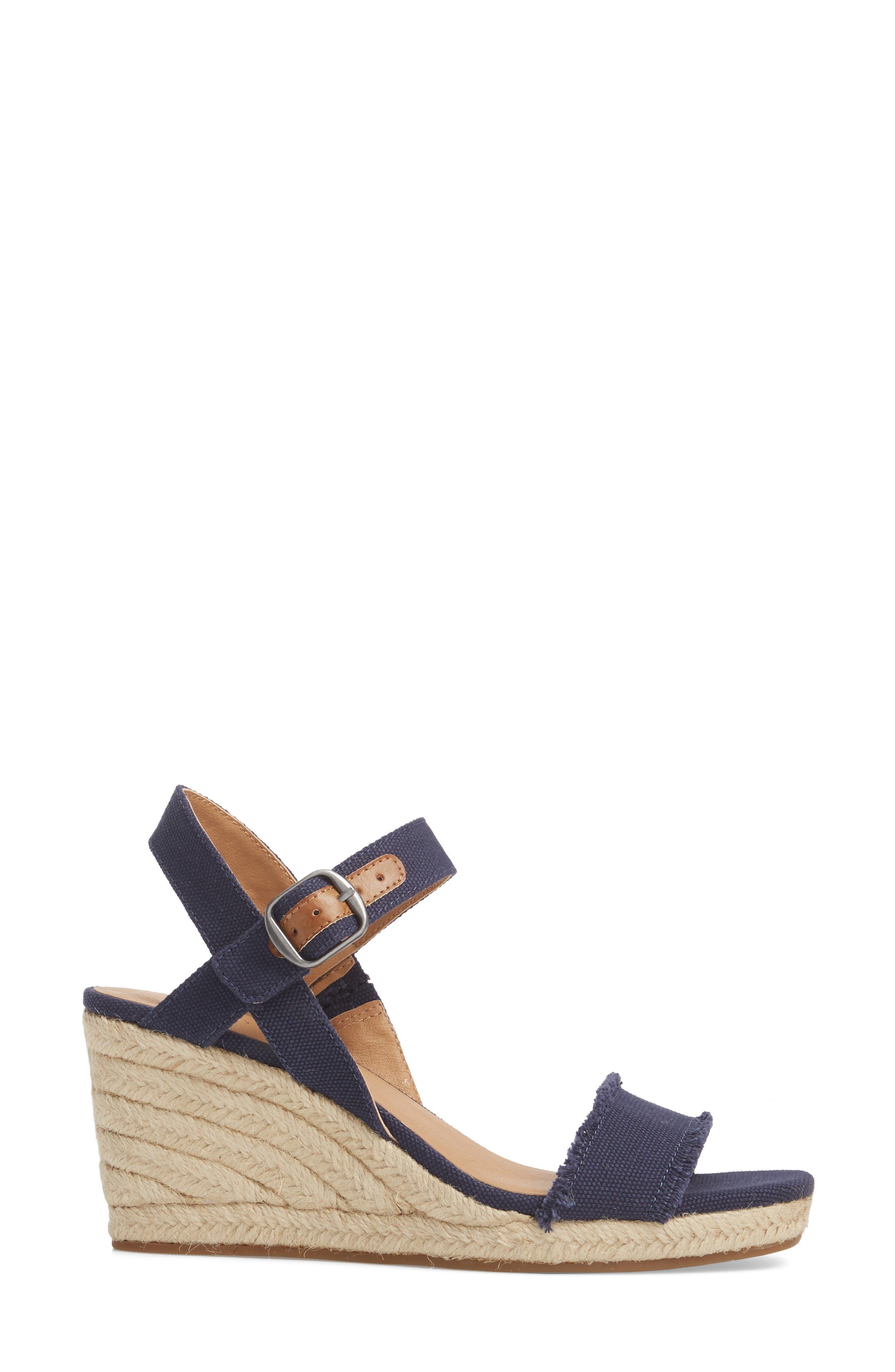 Marceline Squared Toe Wedge Sandal,                             Alternate thumbnail 18, color,