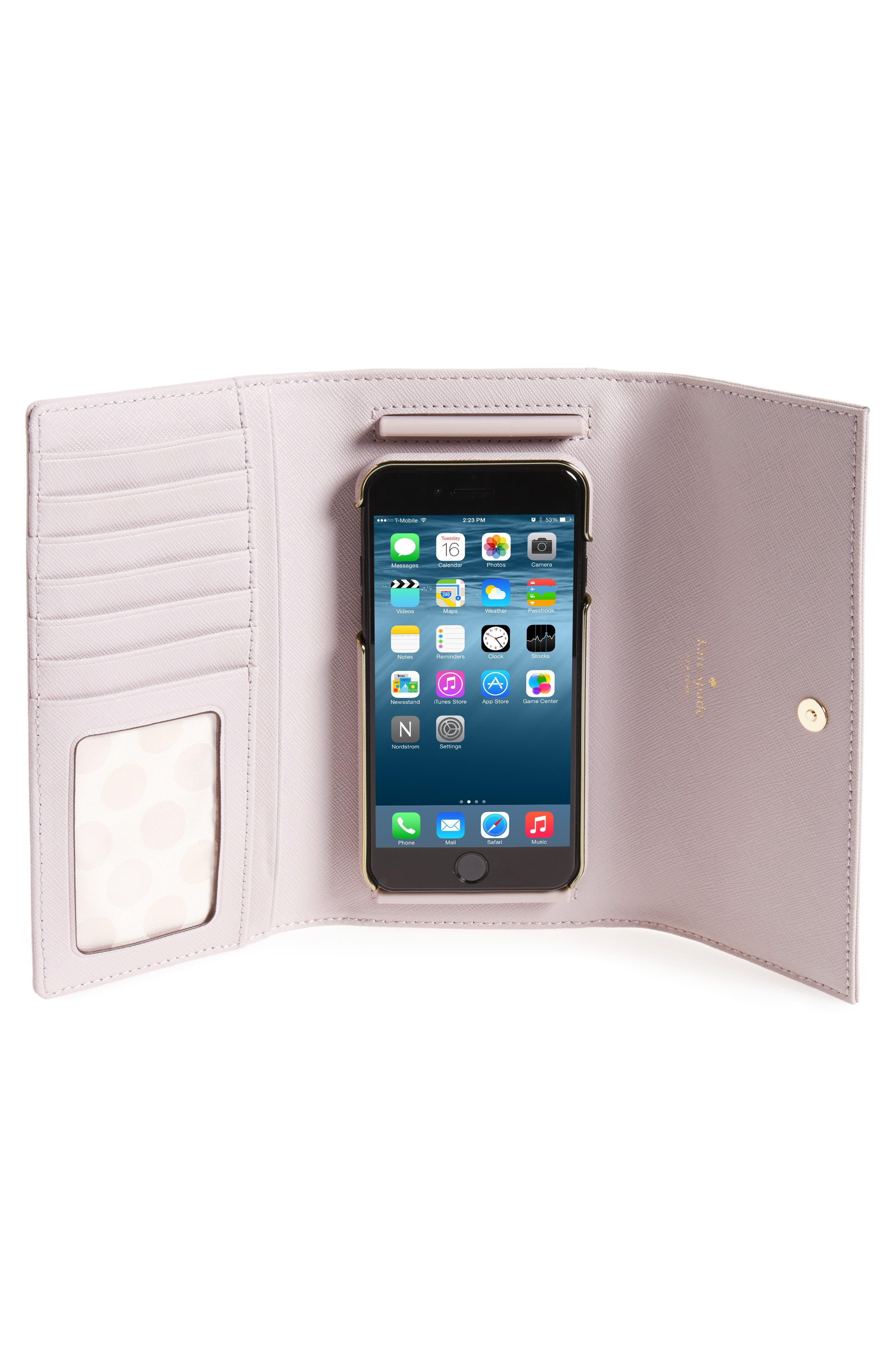 leather iPhone 7/8 & 7/8 Plus case,                             Alternate thumbnail 21, color,