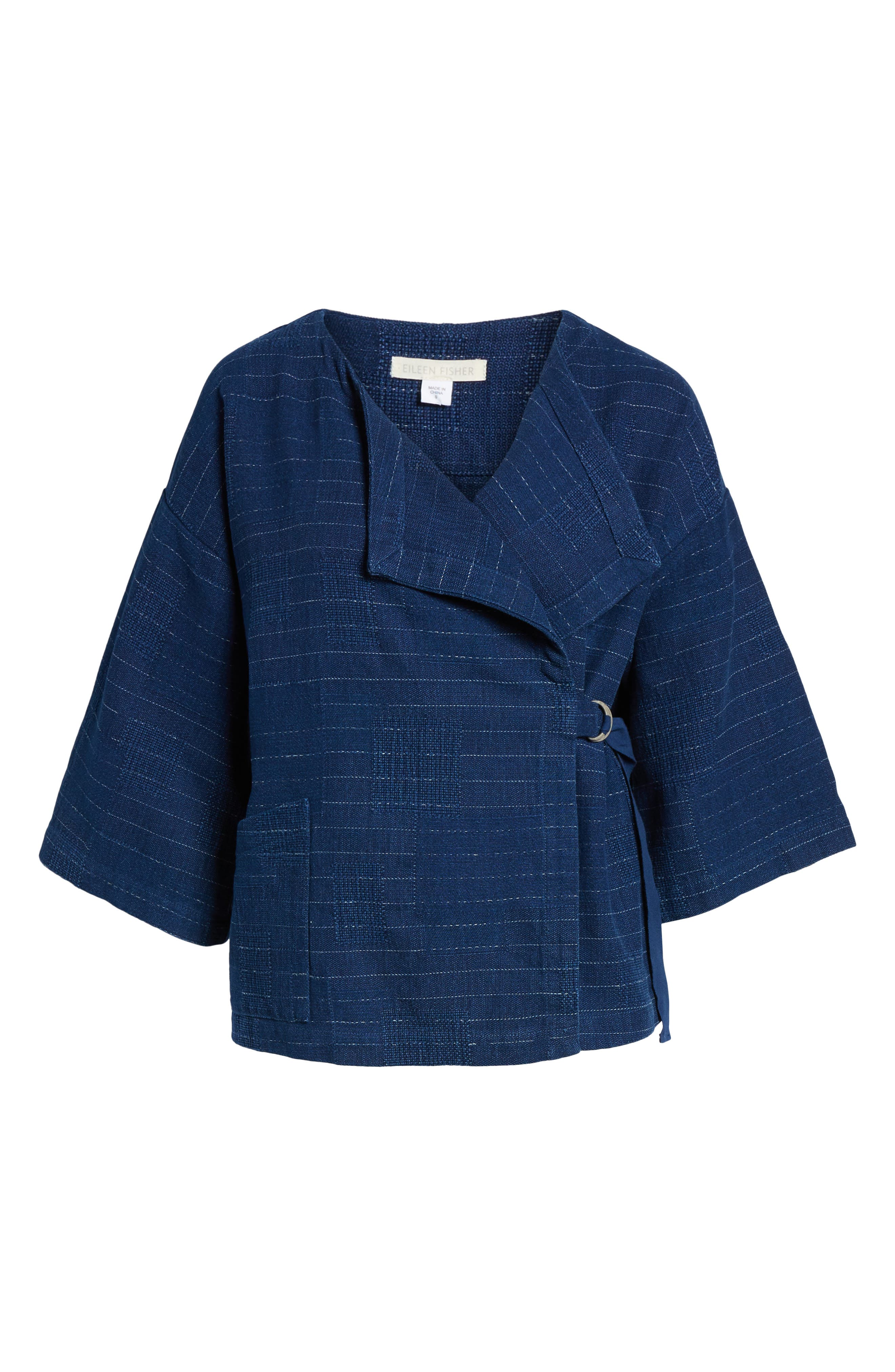 Belted Kimono Jacket,                             Alternate thumbnail 6, color,                             402