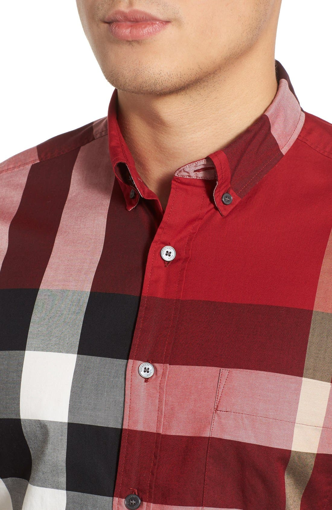 Nelson Check Sport Shirt,                             Alternate thumbnail 93, color,