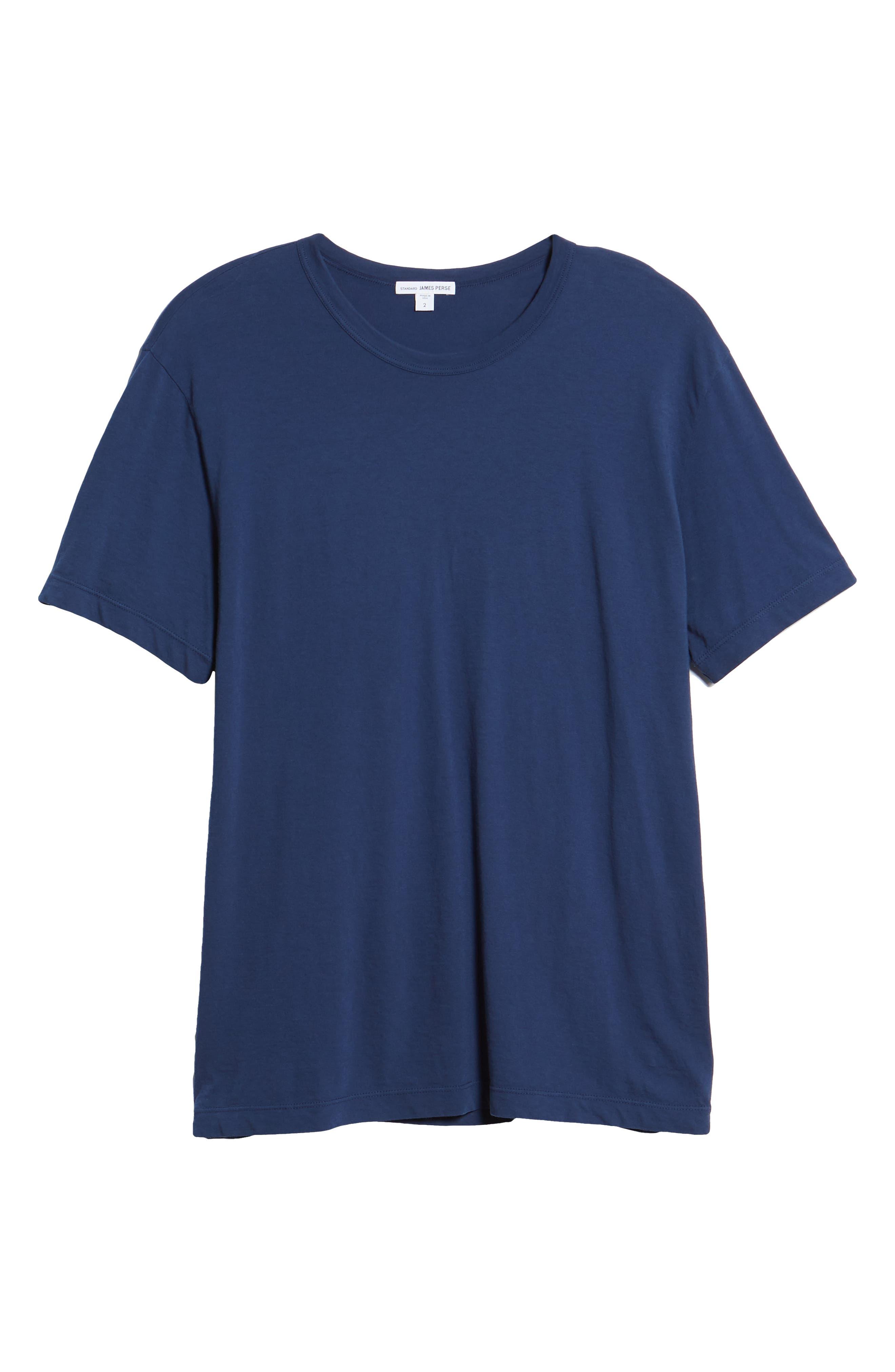 Crewneck Jersey T-Shirt,                             Alternate thumbnail 465, color,