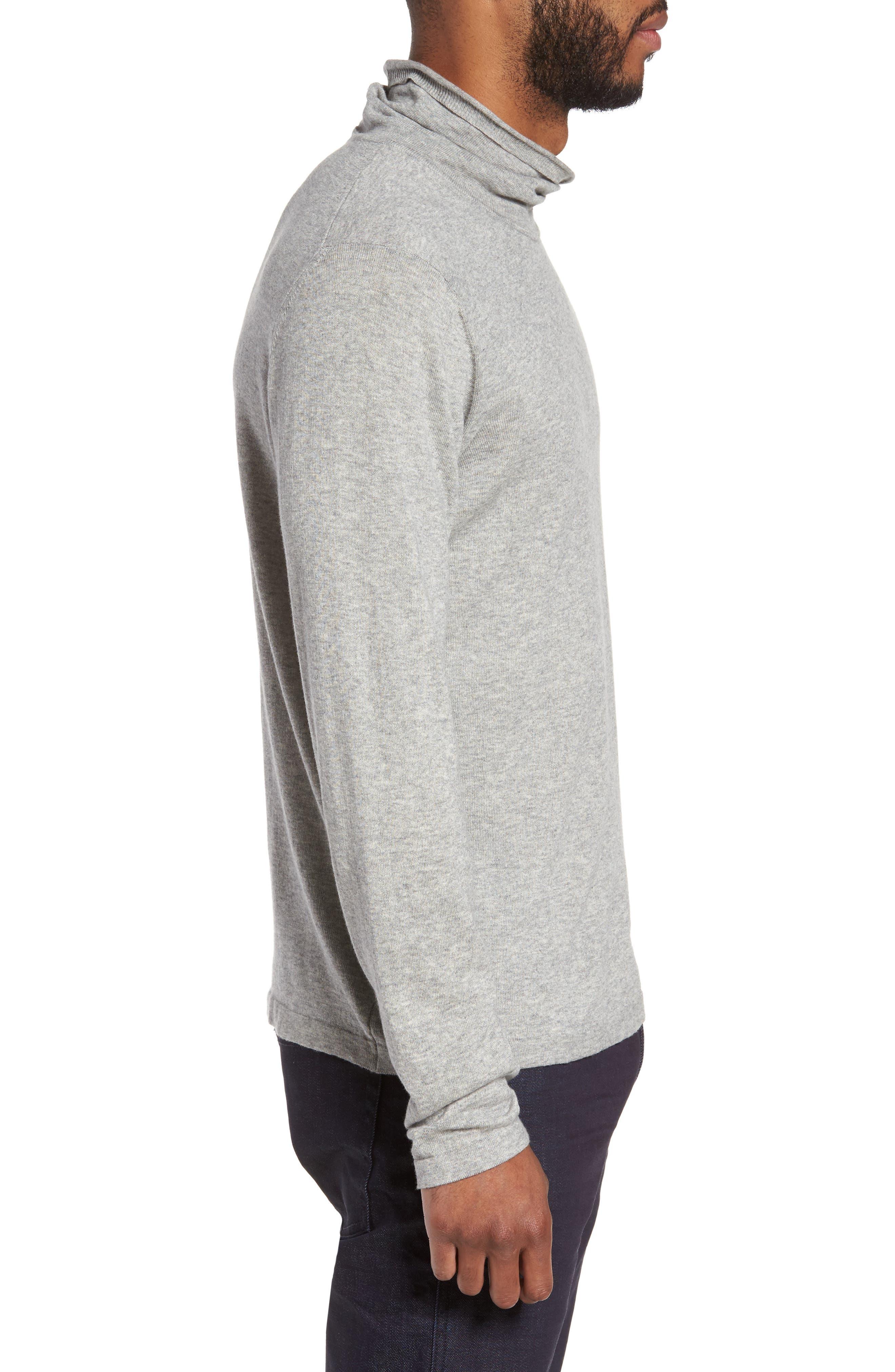 Hess Wool Turtleneck Sweater,                             Alternate thumbnail 5, color,