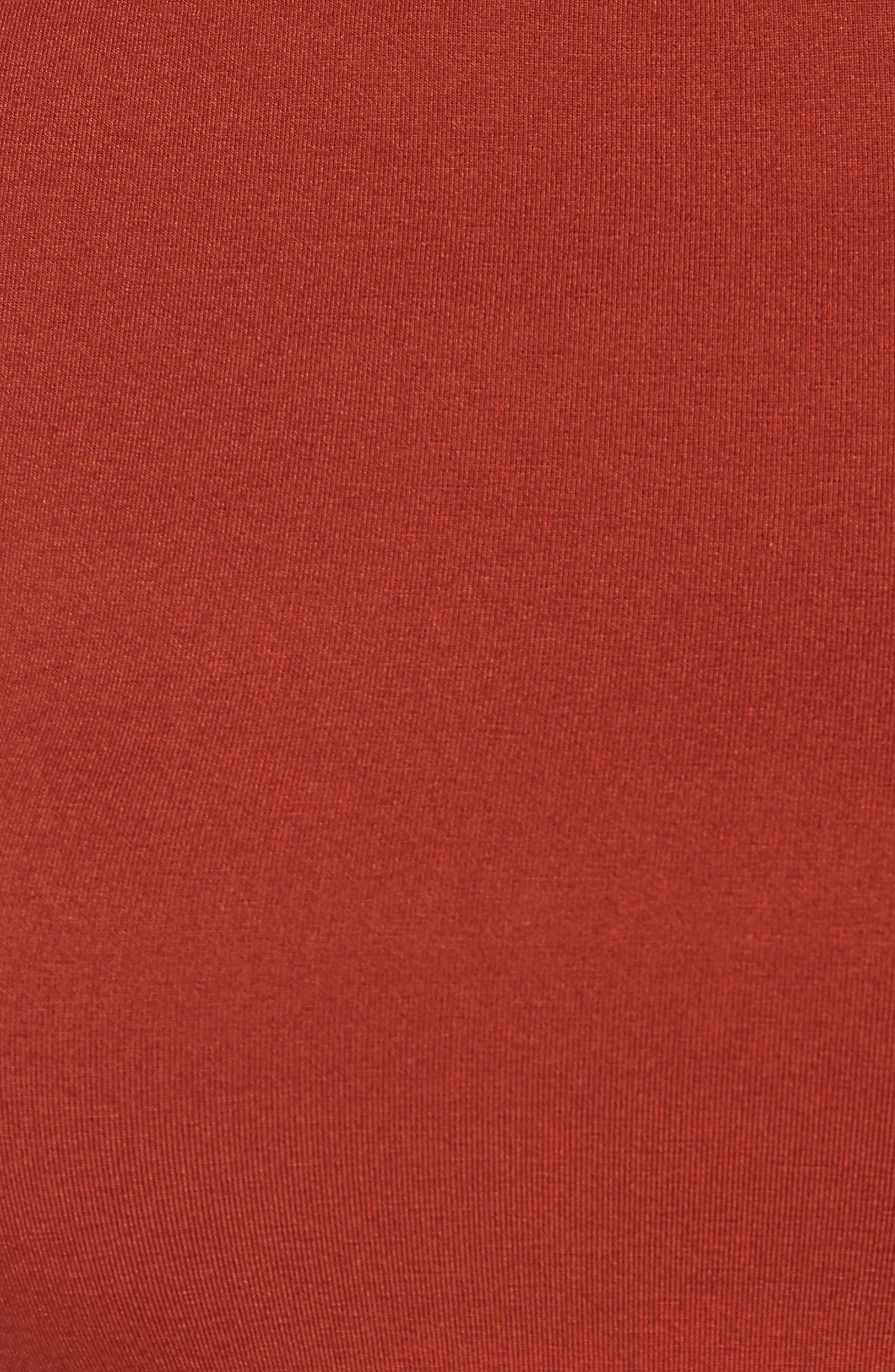 Open Back Crop Turtleneck,                             Alternate thumbnail 6, color,                             600
