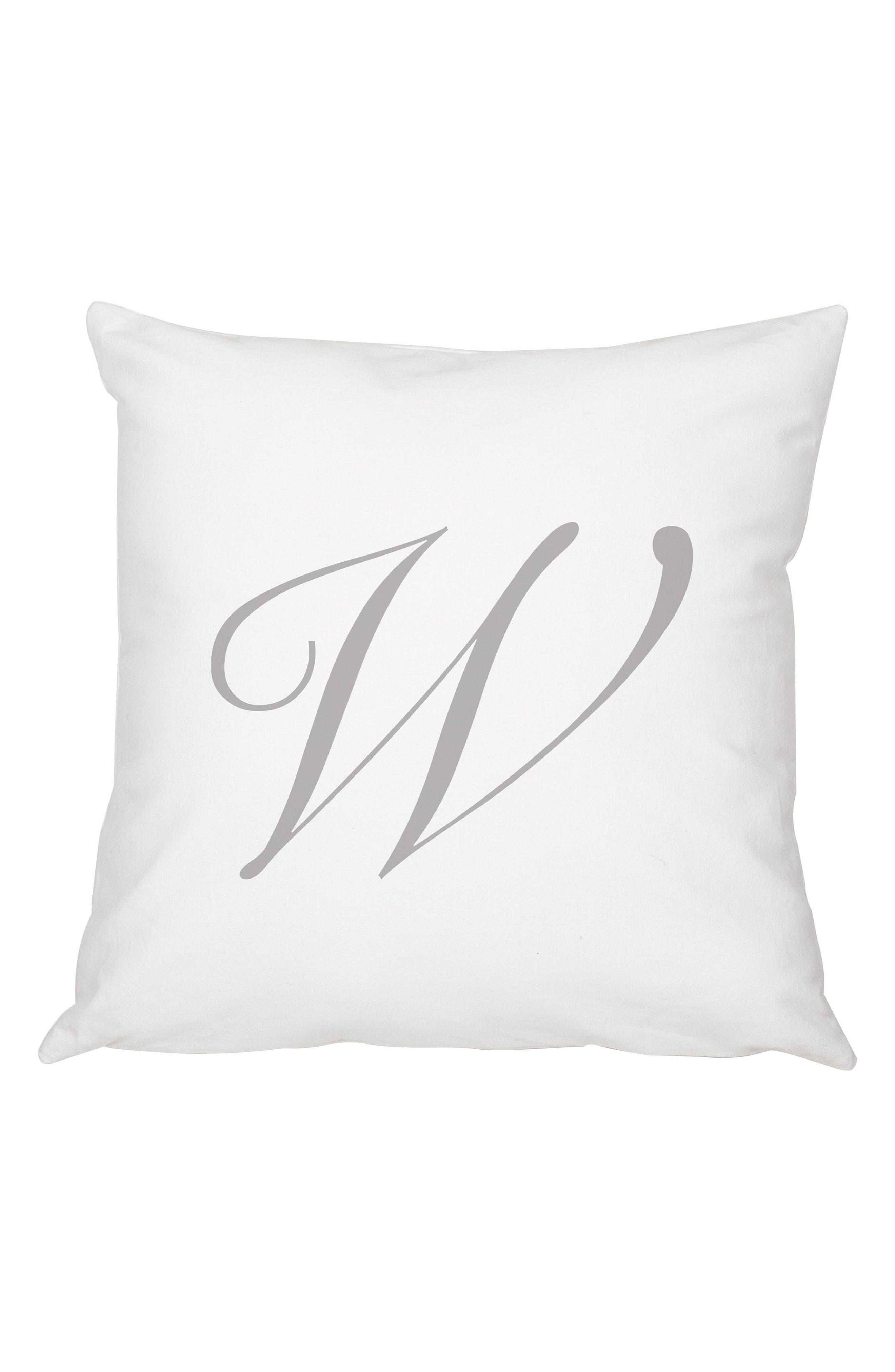 Script Monogram Accent Pillow,                             Main thumbnail 23, color,