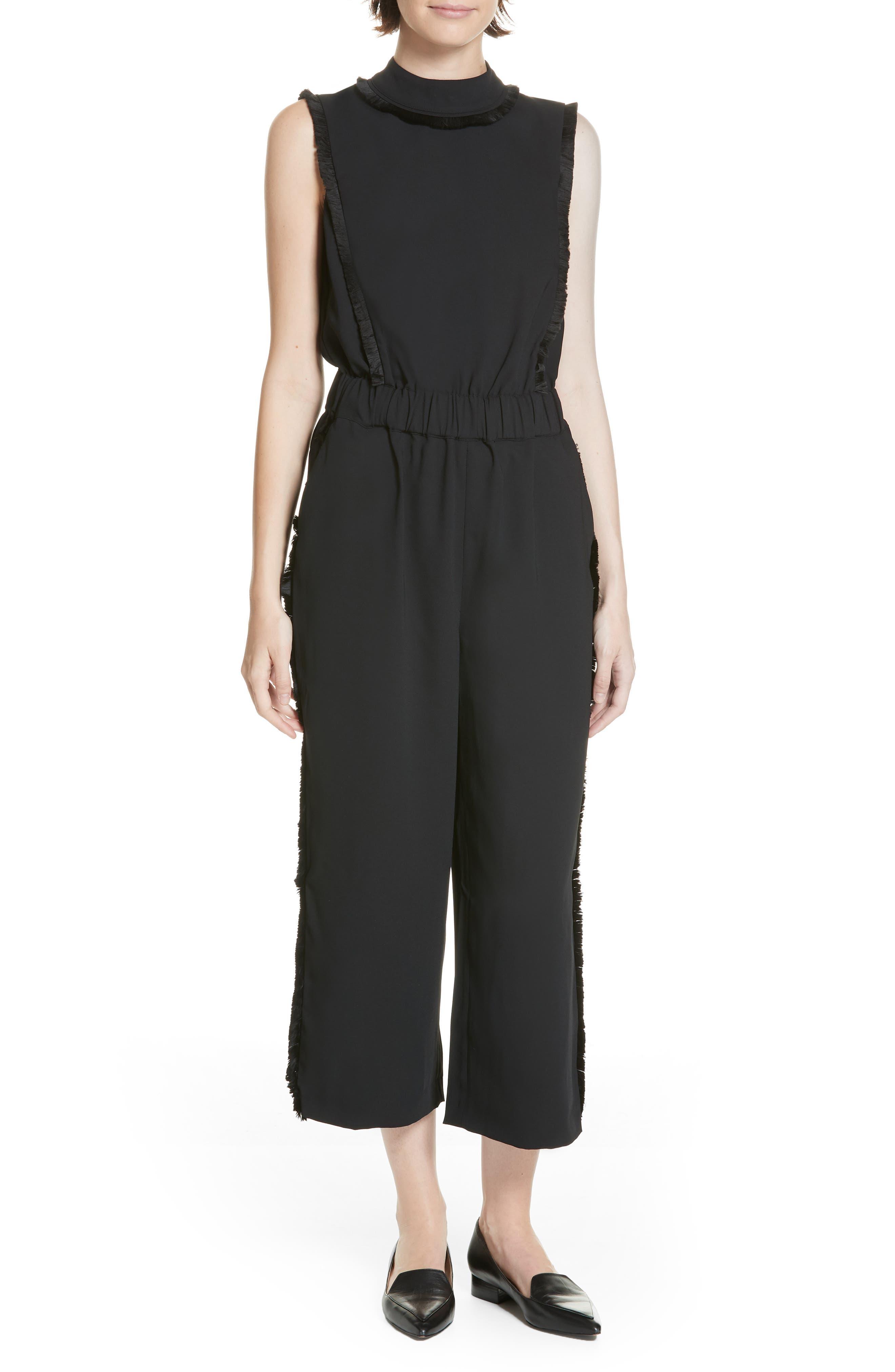 Bethzi Jumpsuit,                         Main,                         color, BLACK