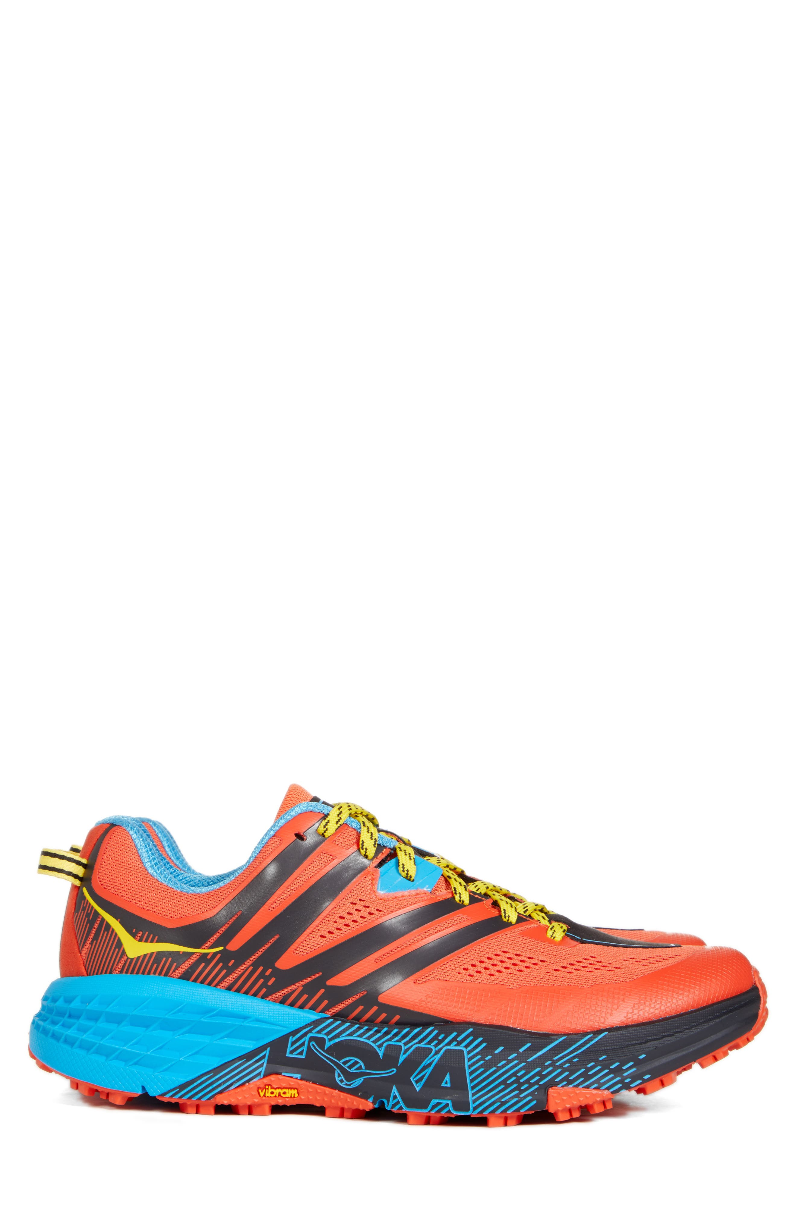 Speedgoat 3 Trail Running Shoe, Main, color, NASTURTIUM/ SPICY ORANGE