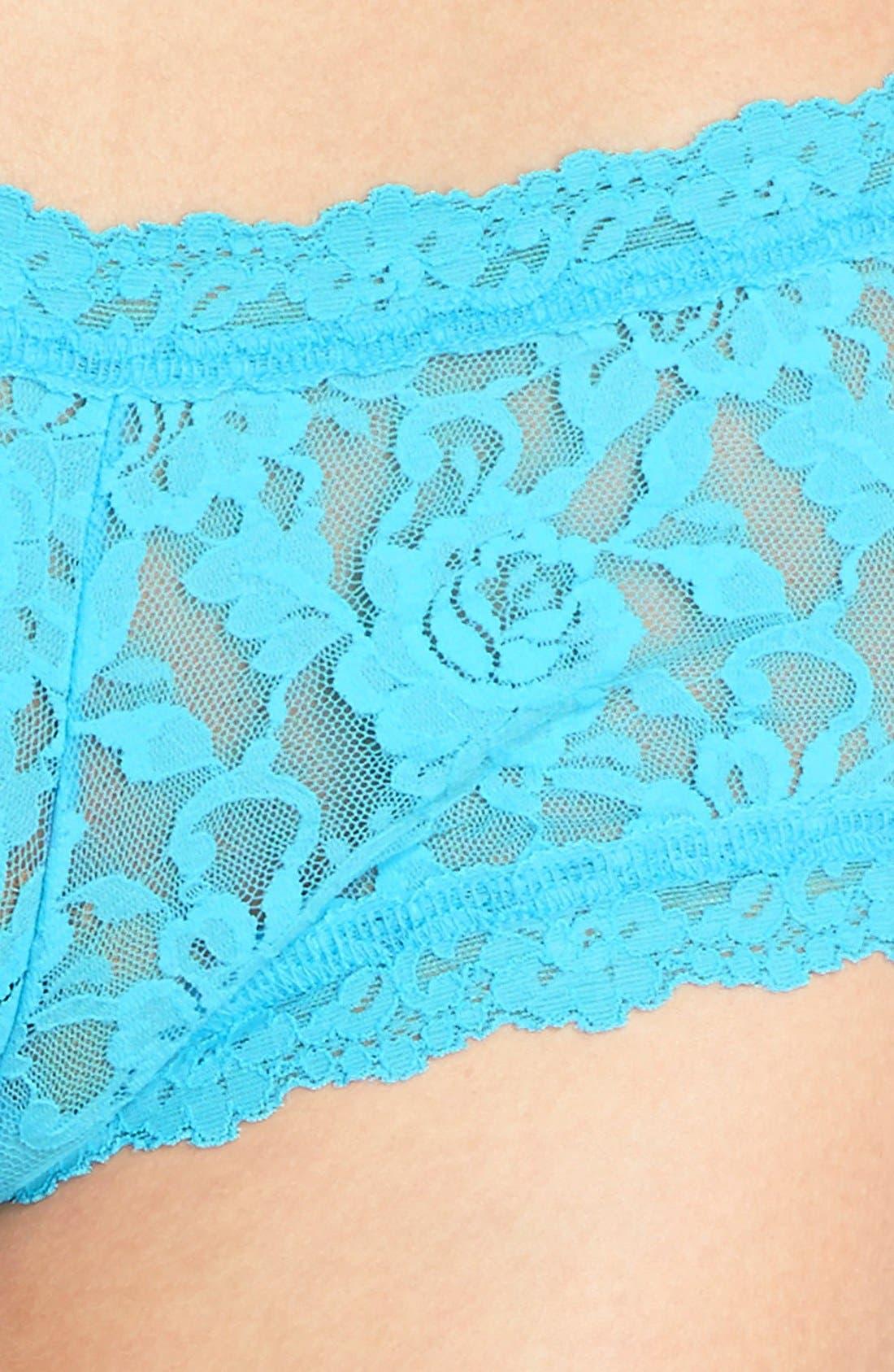 'Signature Lace' Boyshorts,                             Alternate thumbnail 200, color,