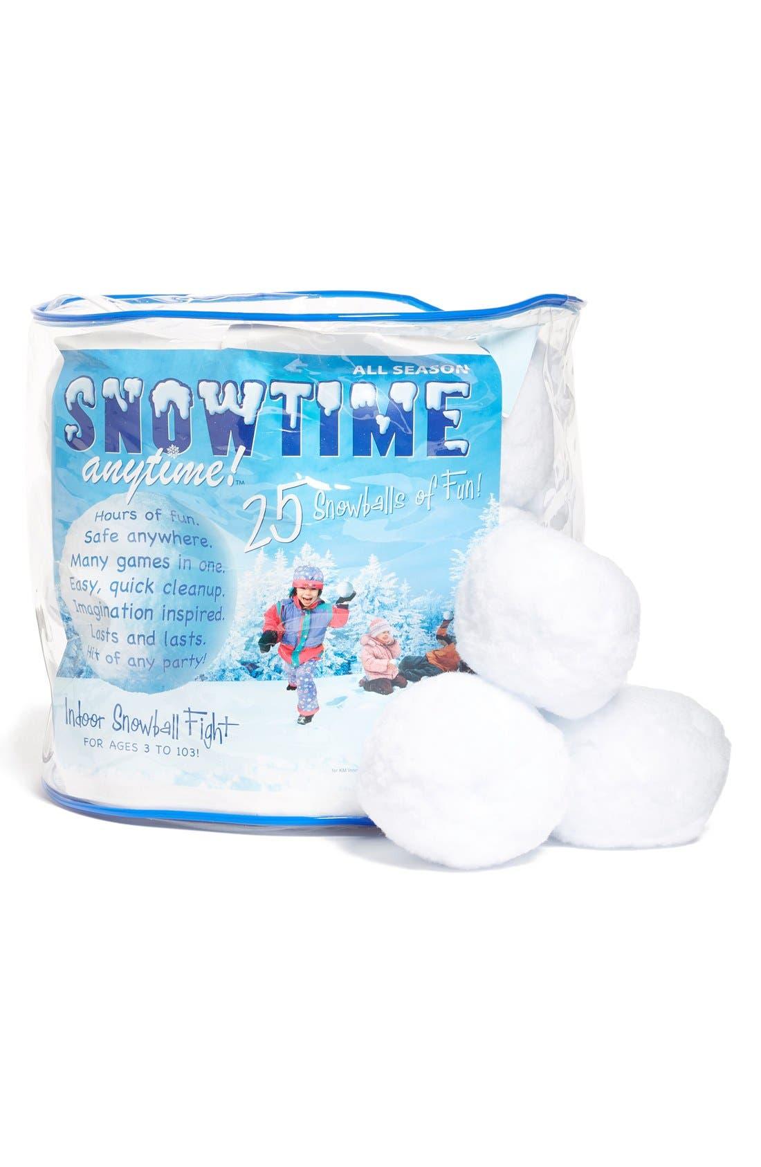 25-Pack Snowtime Indoor Snowballs,                             Main thumbnail 1, color,