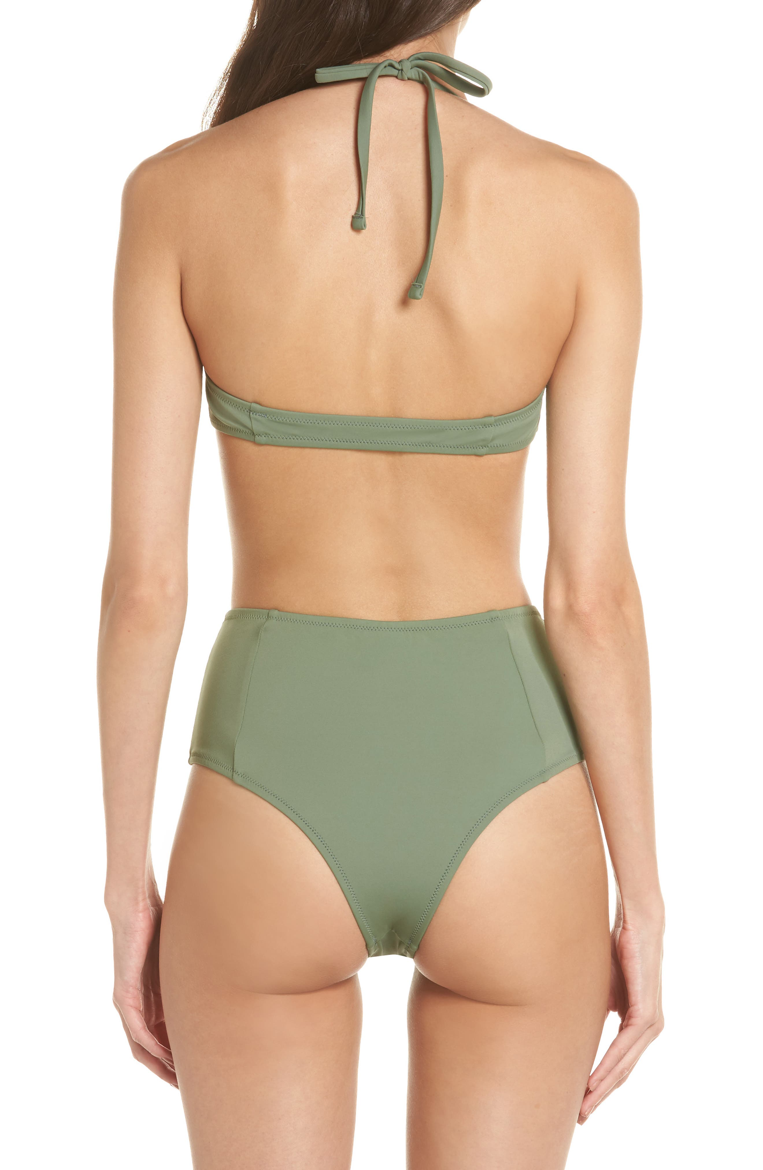 SOLID & STRIPED,                             The Jessica High Waist Bikini Bottoms,                             Alternate thumbnail 8, color,                             339