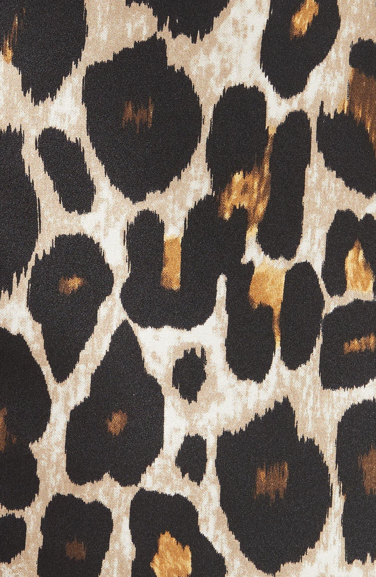 Leopard Print Tank Top,                             Alternate thumbnail 5, color,                             200