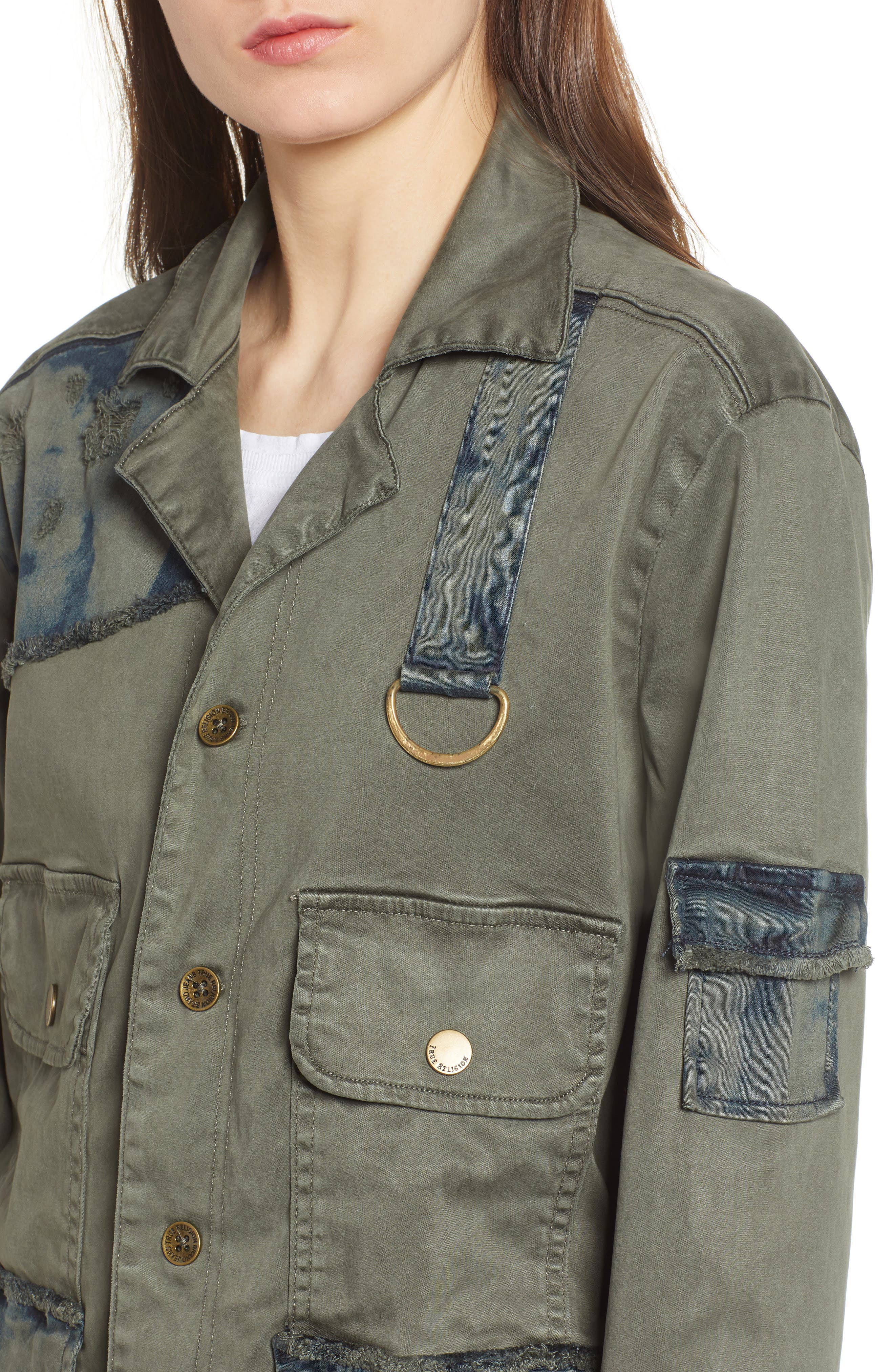Military Jacket,                             Alternate thumbnail 4, color,                             300