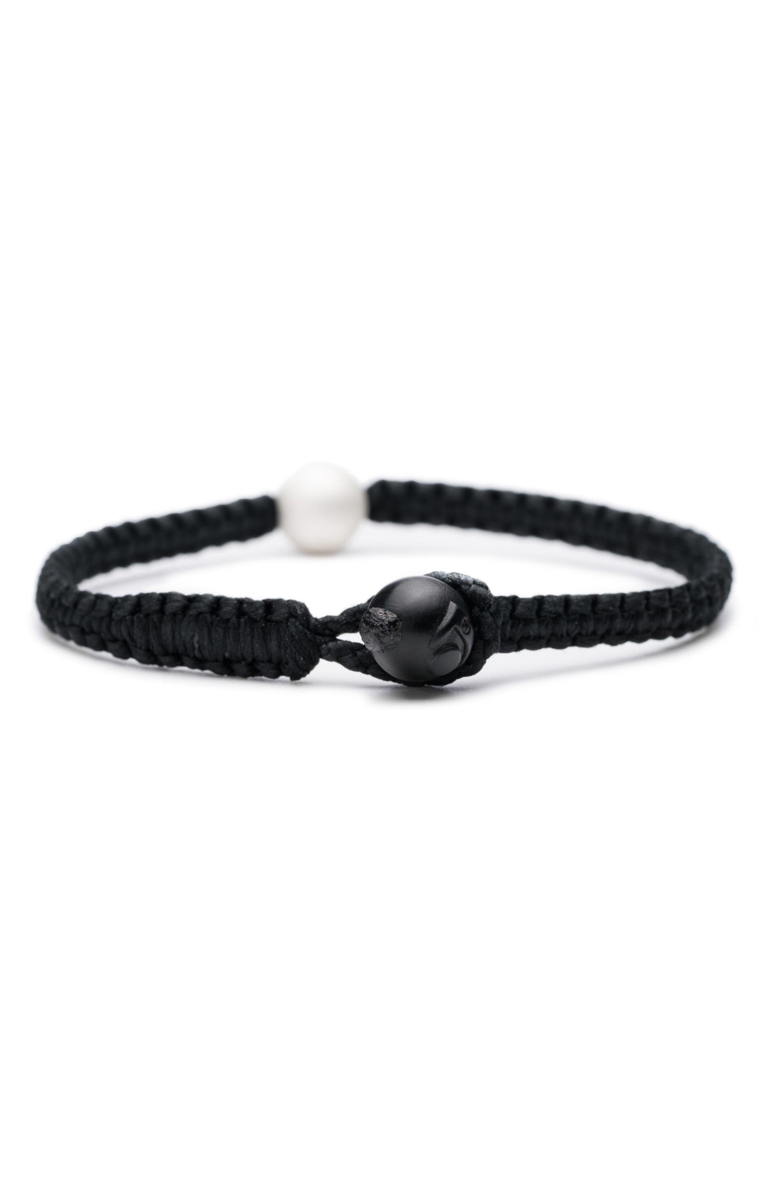 Single Wrap Bracelet,                             Alternate thumbnail 2, color,                             001