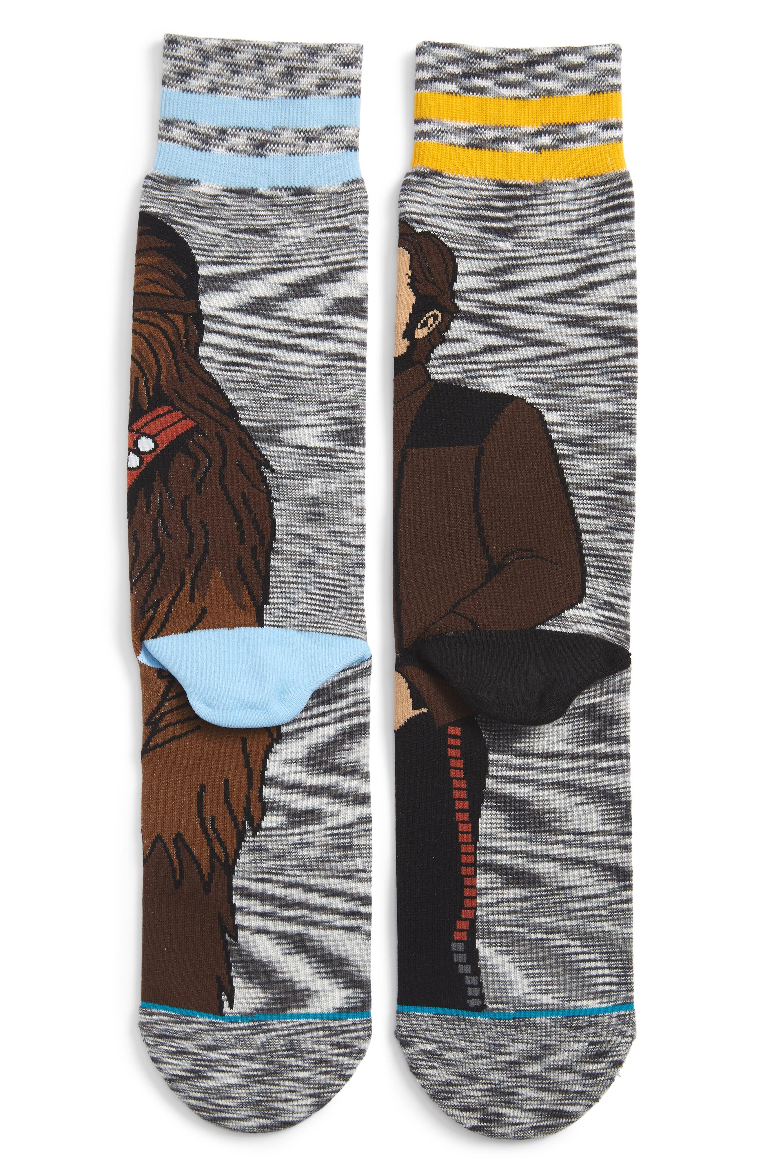 Star Wars Kessel Run Socks,                             Alternate thumbnail 2, color,                             GREY