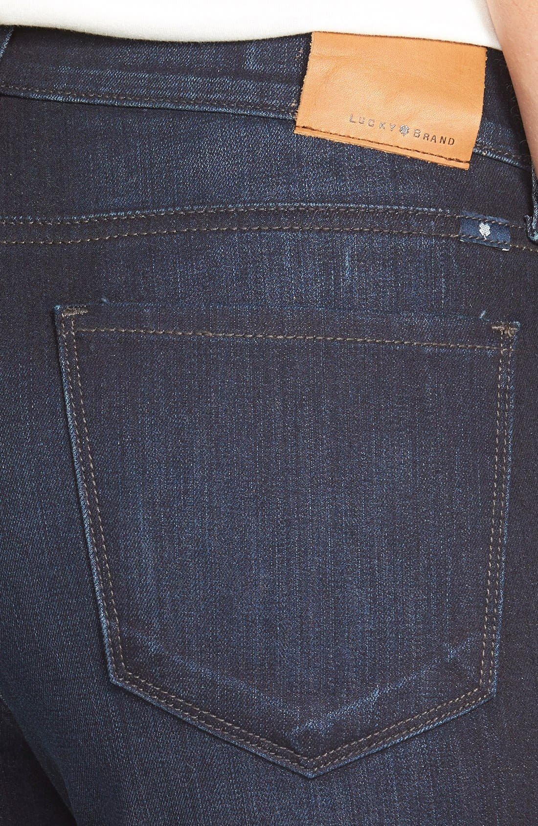 'Brooke' Stretch Bootcut Jeans,                             Alternate thumbnail 3, color,                             410