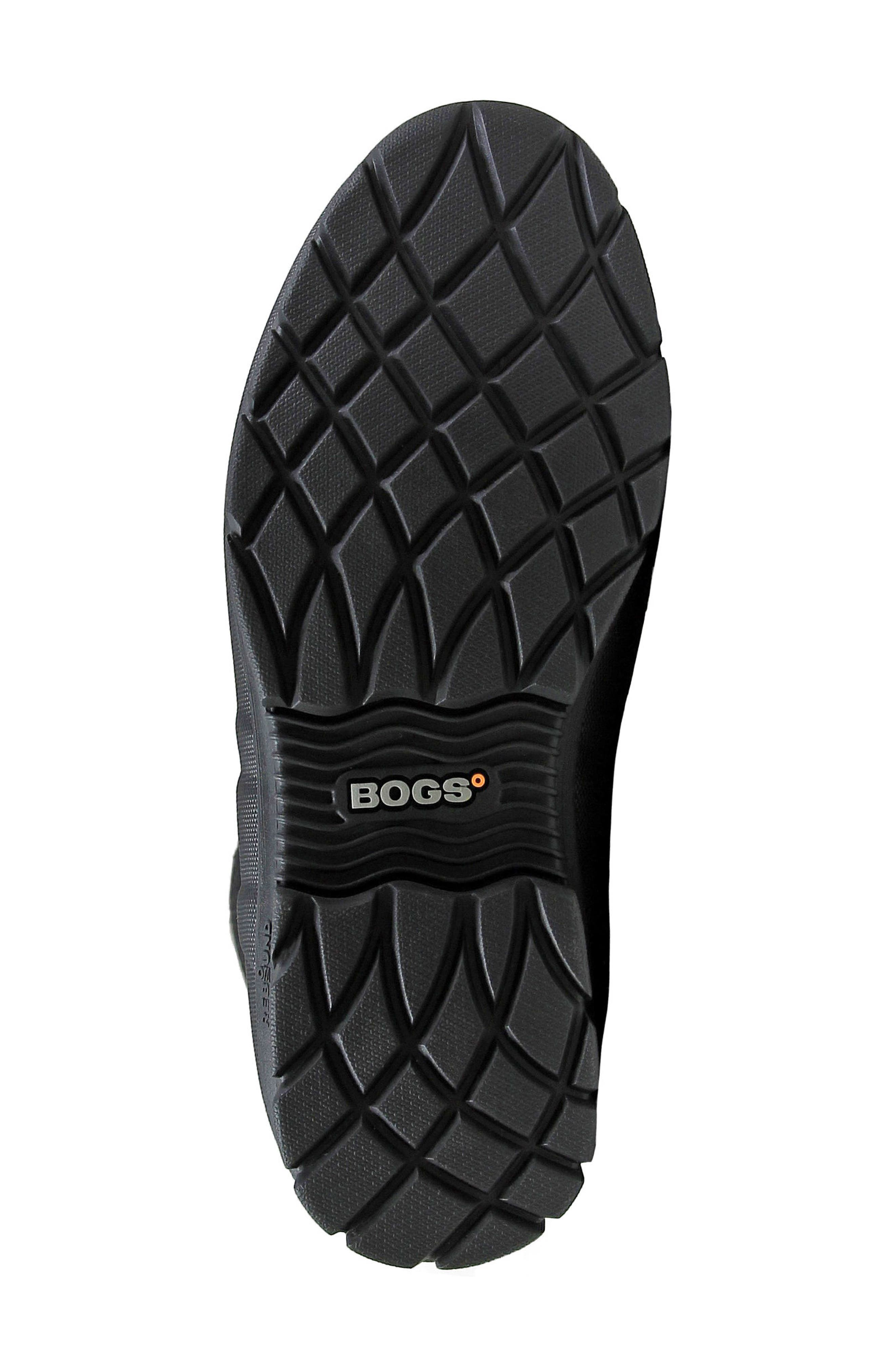 Crandall Waterproof Tall Boot,                             Alternate thumbnail 6, color,                             001