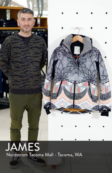 Frozen Flow Hooded Ski Jacket, sales video thumbnail