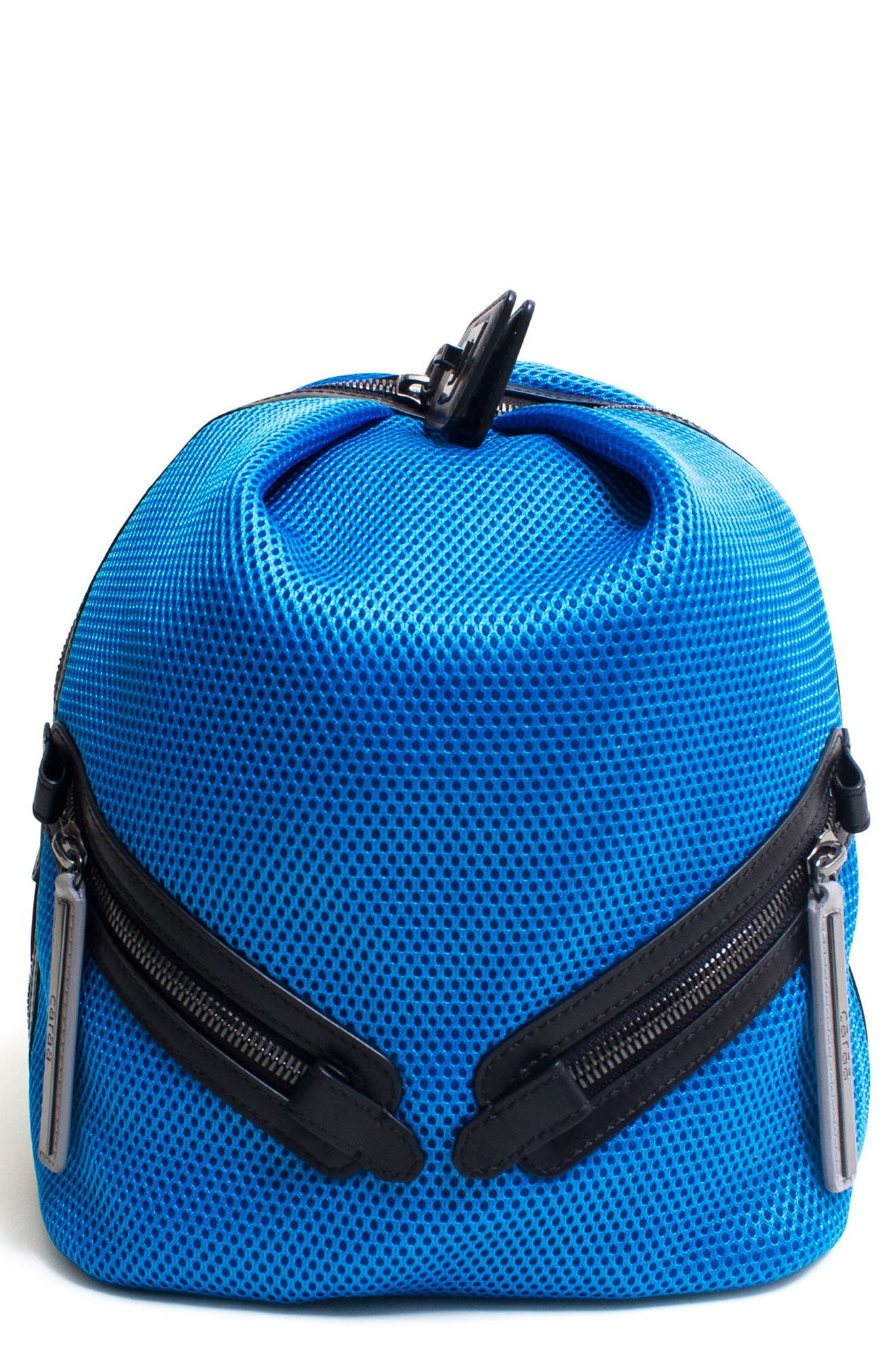 Dance 2 Mesh with Leather Trim Backpack,                             Main thumbnail 2, color,