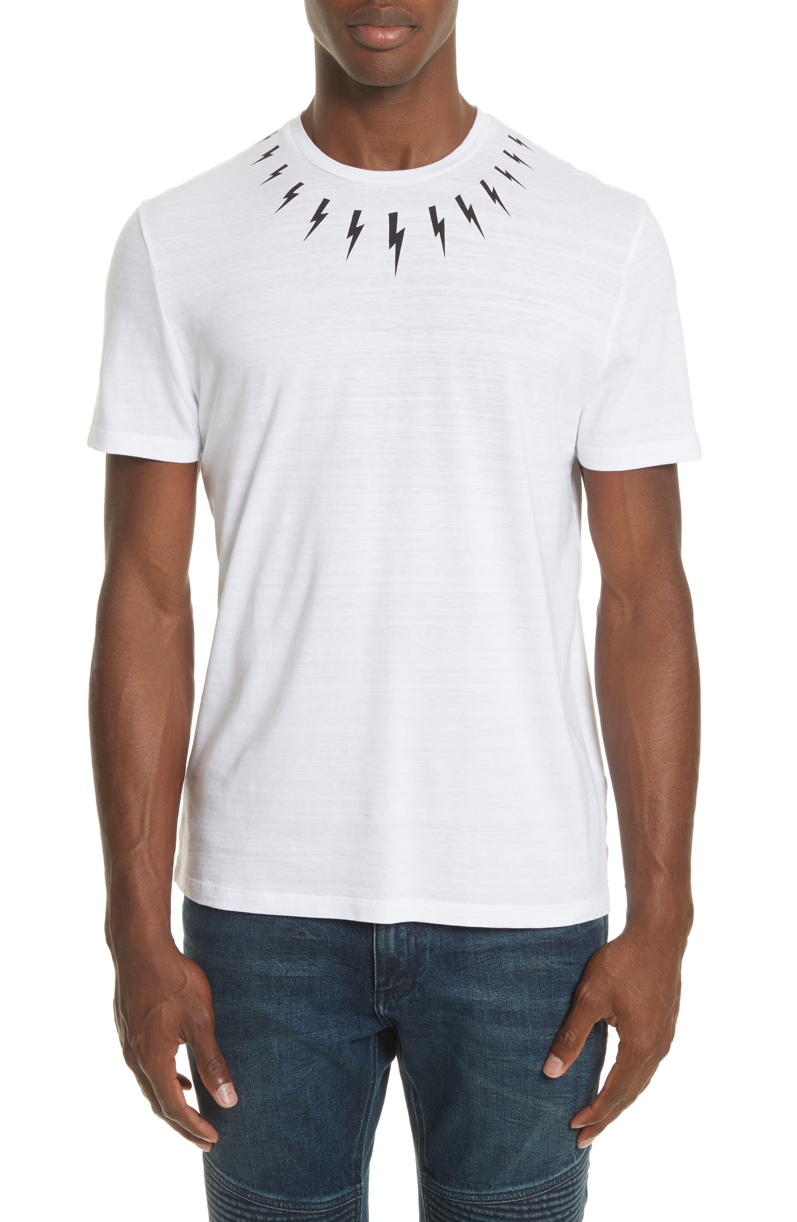 Thunderbolt Graphic T-Shirt,                             Main thumbnail 1, color,                             100