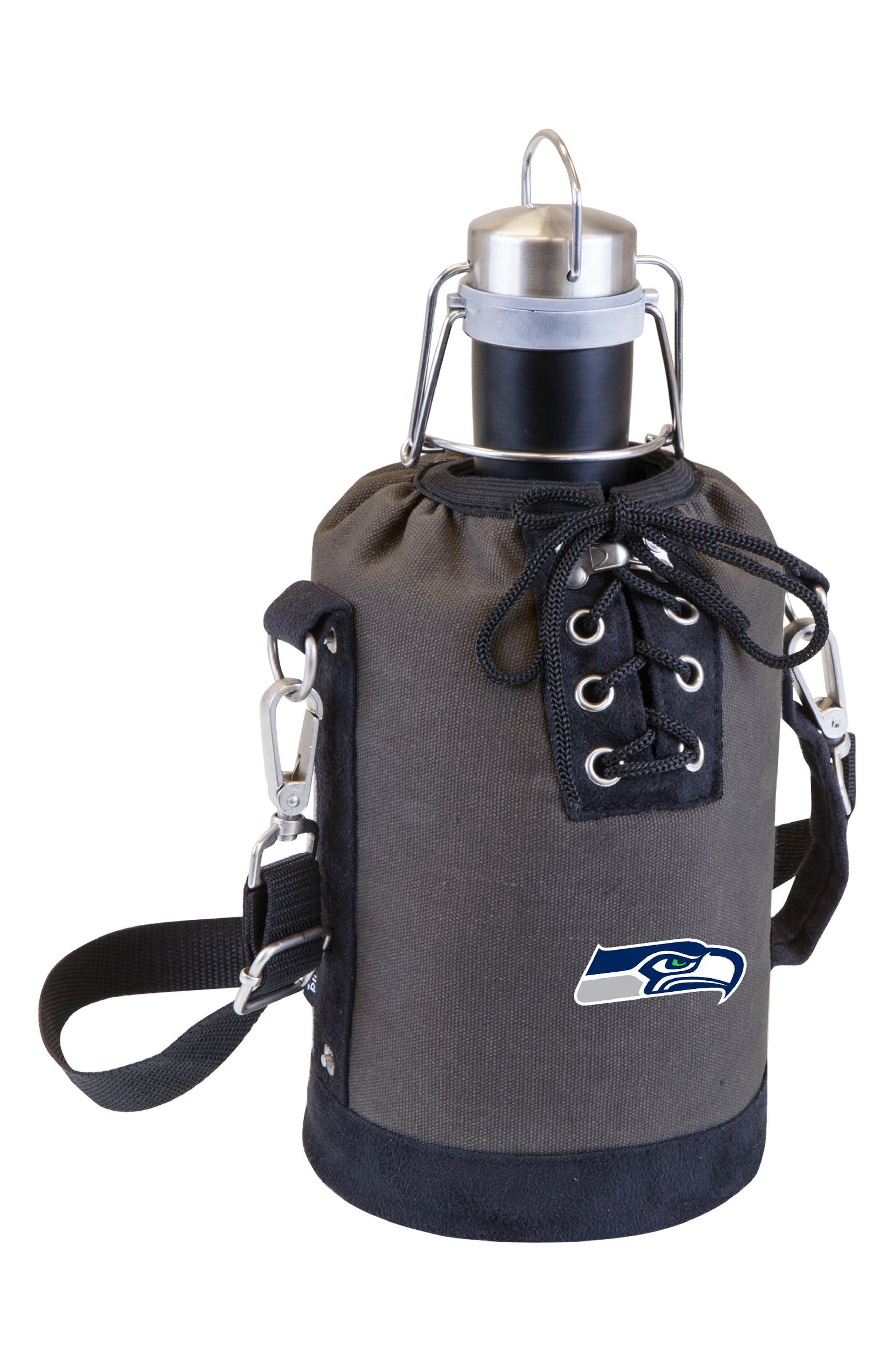 NFL Team Logo Tote & Stainless Steel Growler,                             Main thumbnail 27, color,