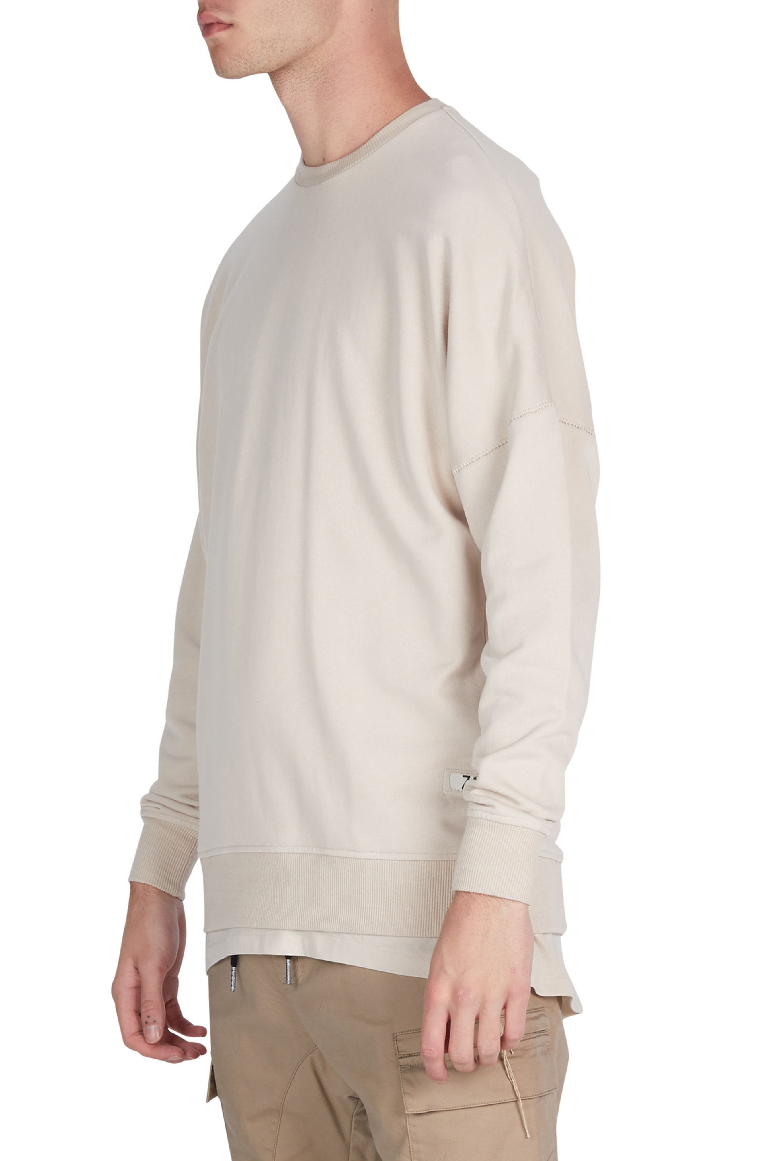 Rugger Crewneck Sweater,                             Alternate thumbnail 4, color,                             251