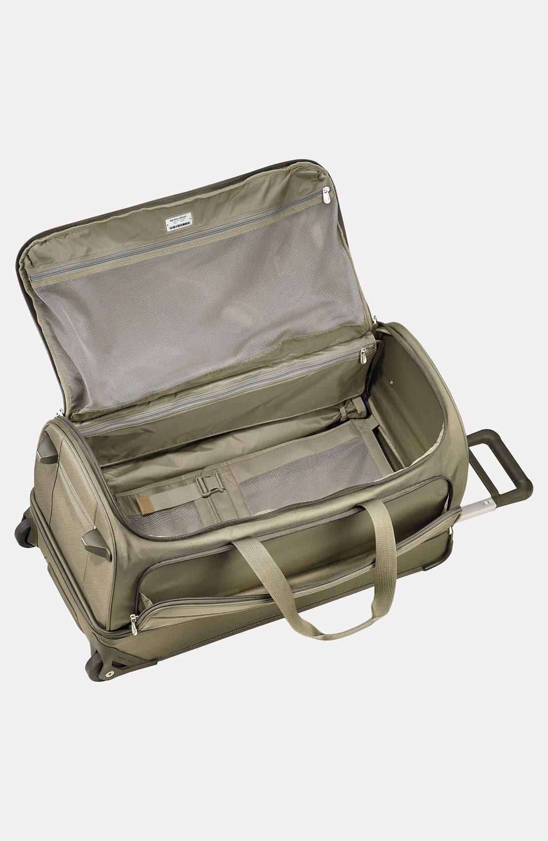 Large Baseline 29-Inch Rolling Duffel Bag,                             Alternate thumbnail 2, color,                             OLIVE