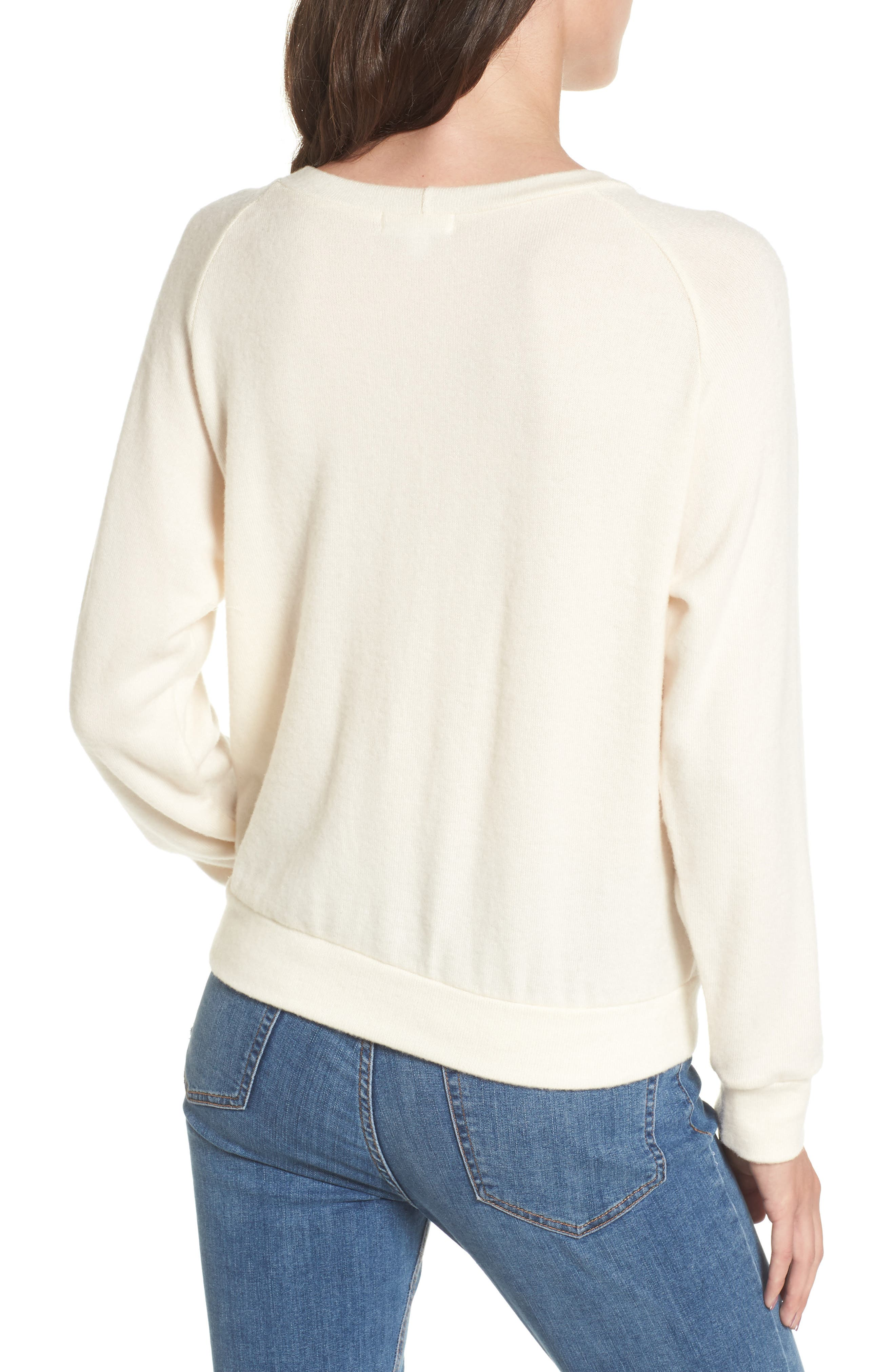 Phased Brushed Cutout Sweater,                             Alternate thumbnail 2, color,                             250