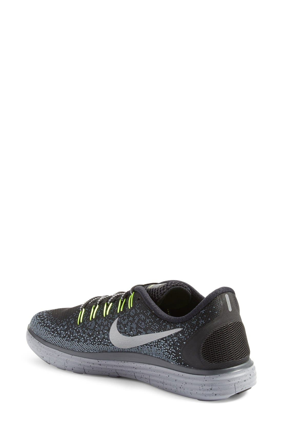 Free RN Distance Shield Running Shoe,                             Alternate thumbnail 5, color,