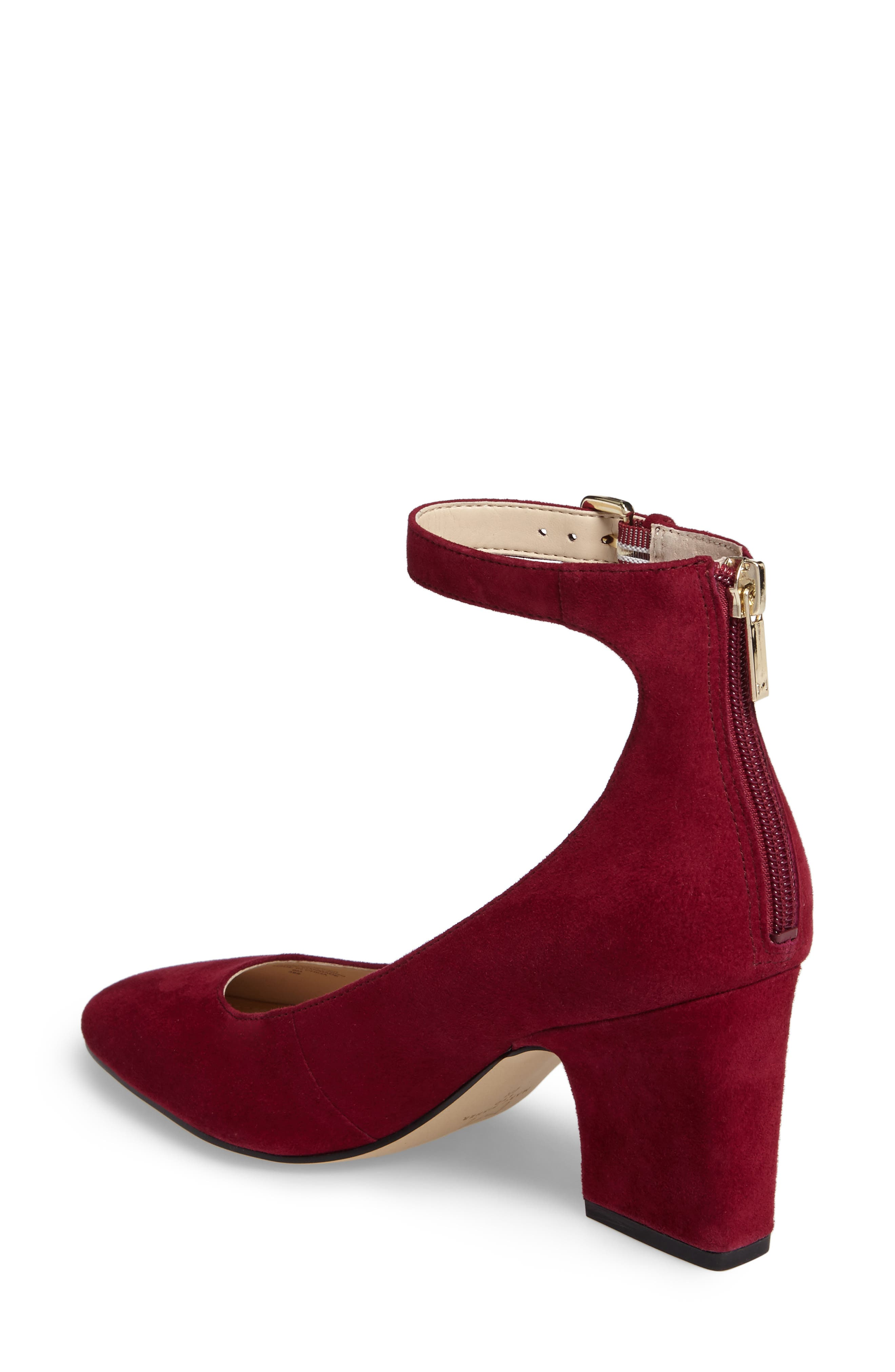 Anisy Ankle Strap Pump,                             Alternate thumbnail 8, color,