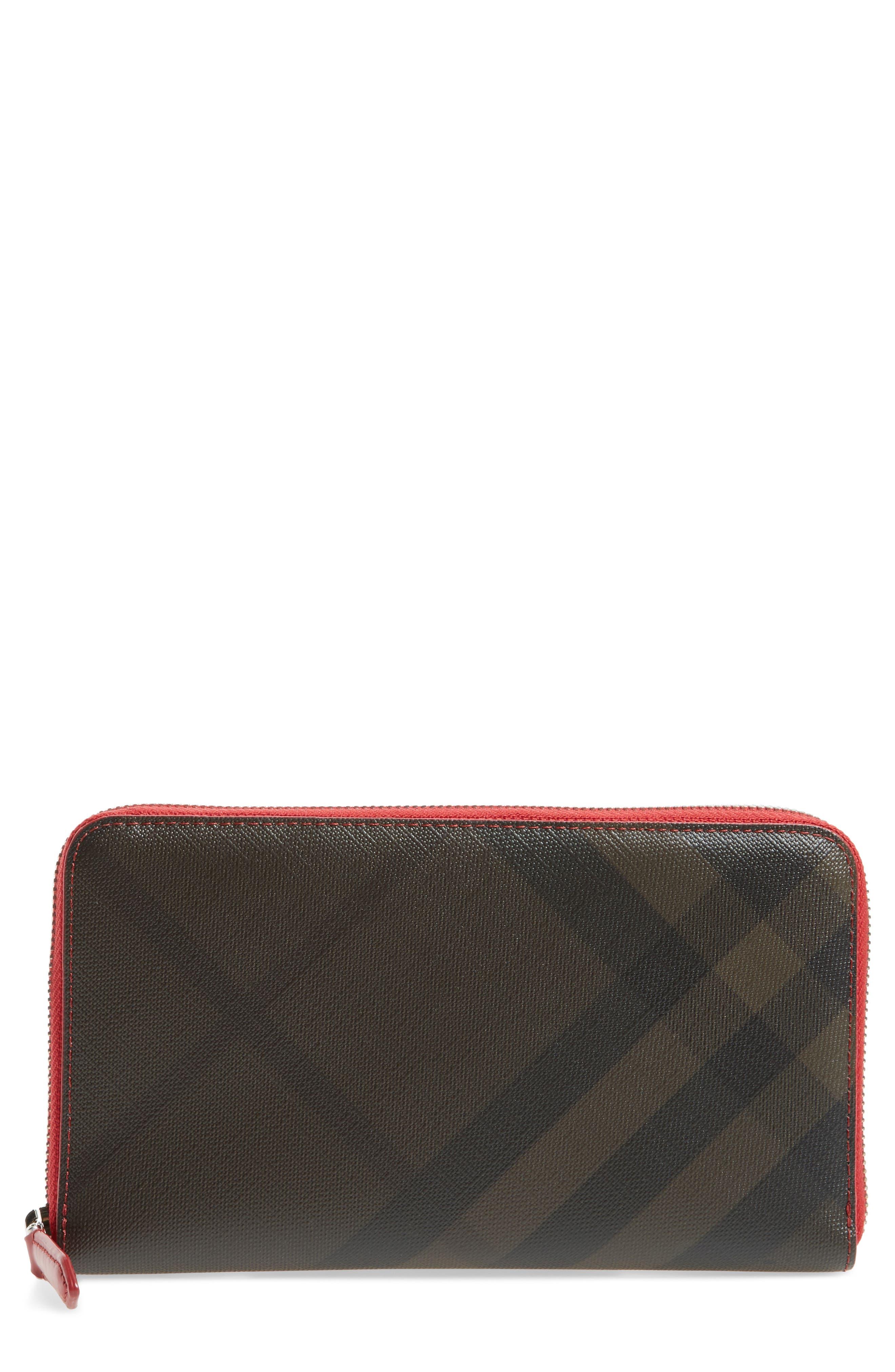 Check Zip Wallet,                             Main thumbnail 1, color,                             207