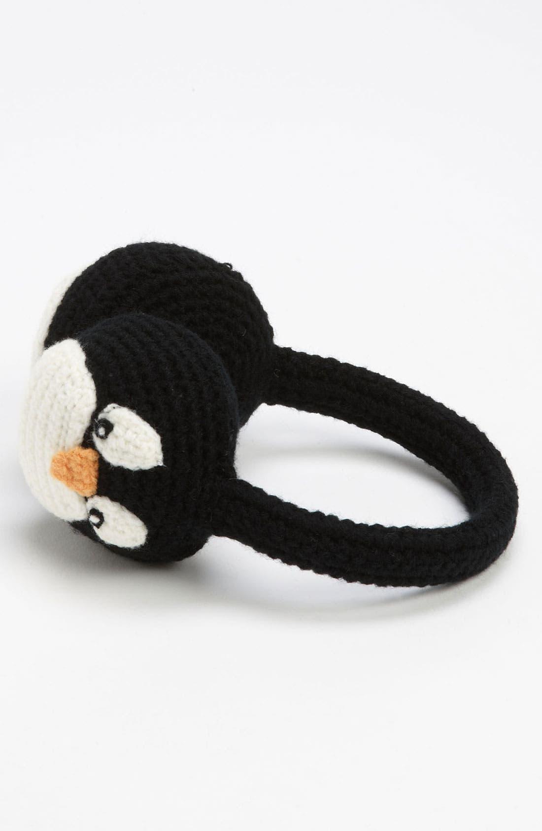 'Penguin' Earmuffs,                             Main thumbnail 1, color,                             001