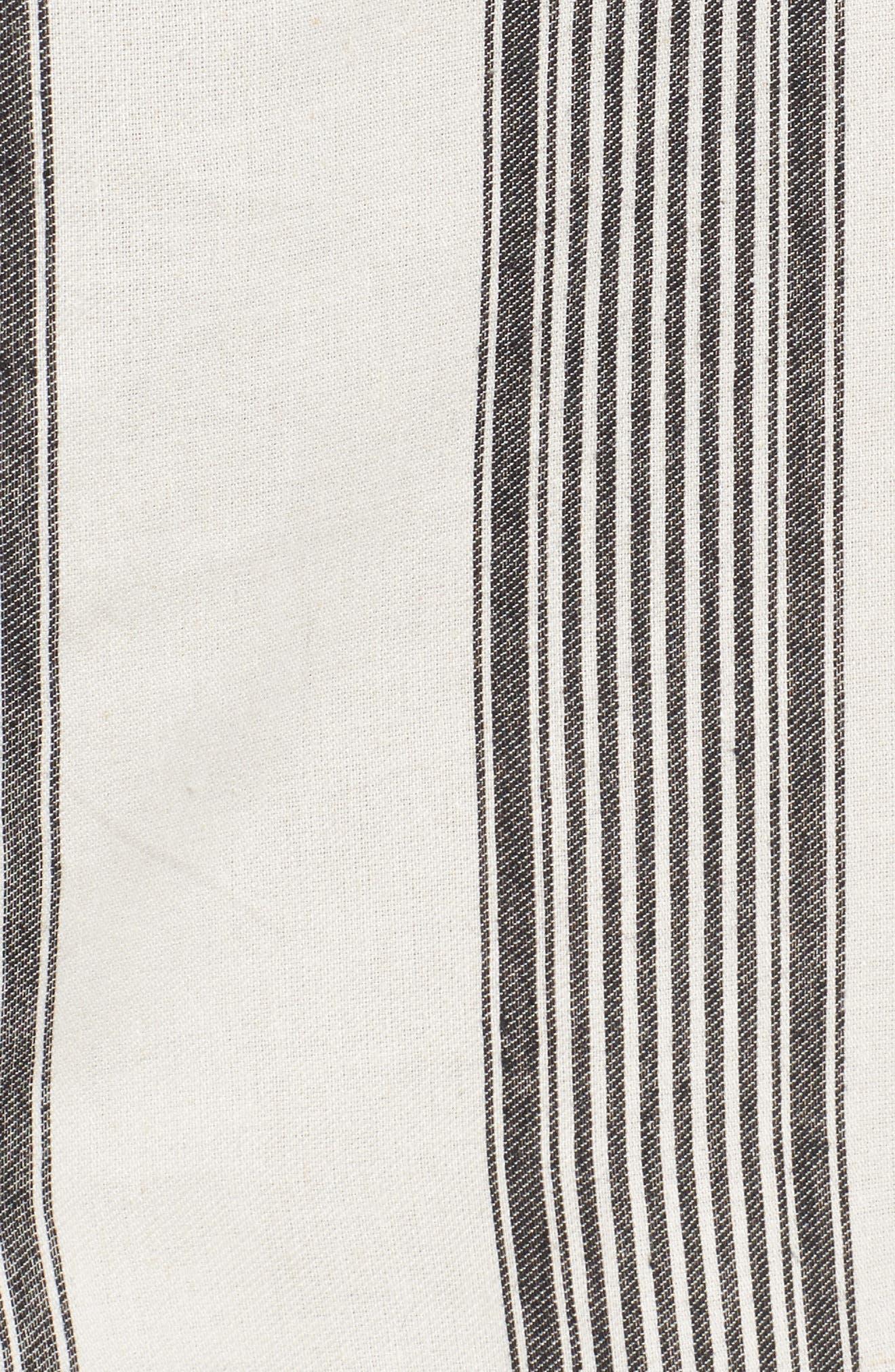Bishop + Young Stripe Shirtdress,                             Alternate thumbnail 5, color,